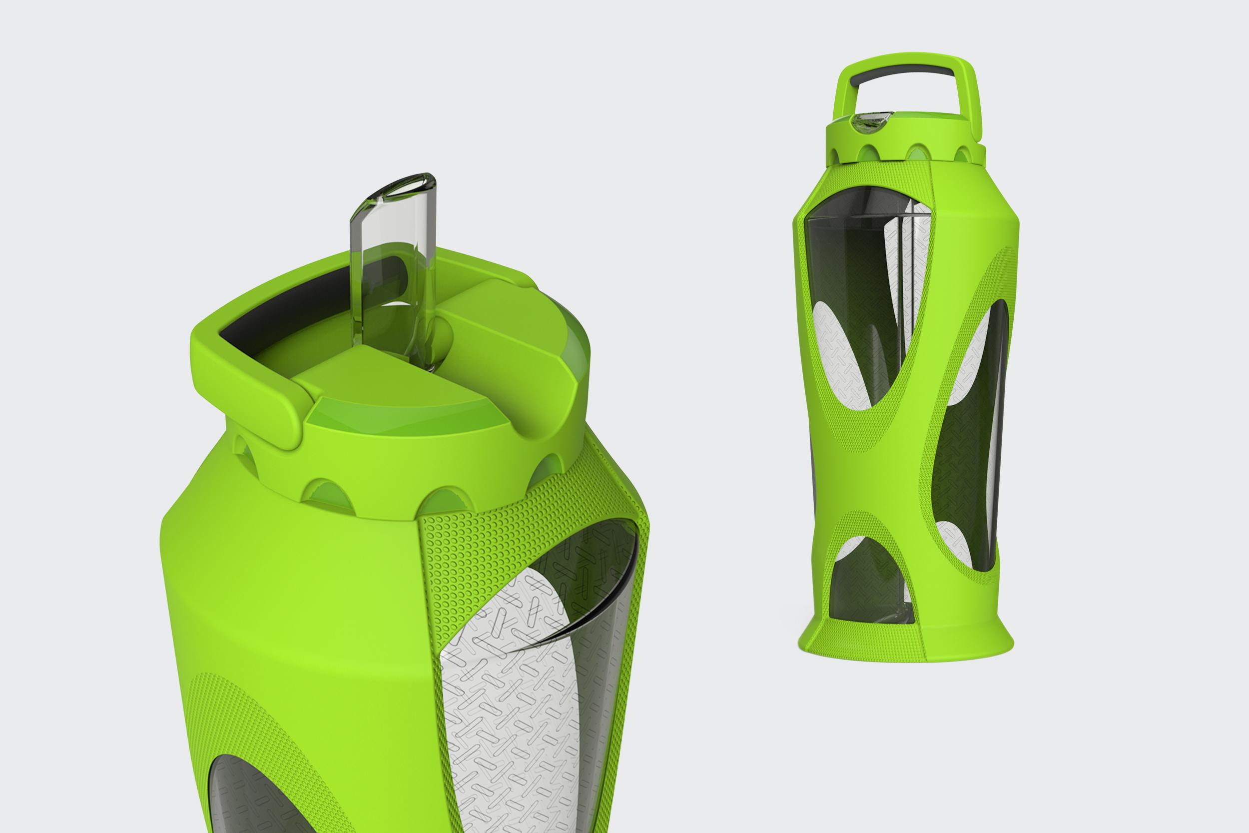 Leapfrog Zulu Water Bottle Concept  |  Product Design