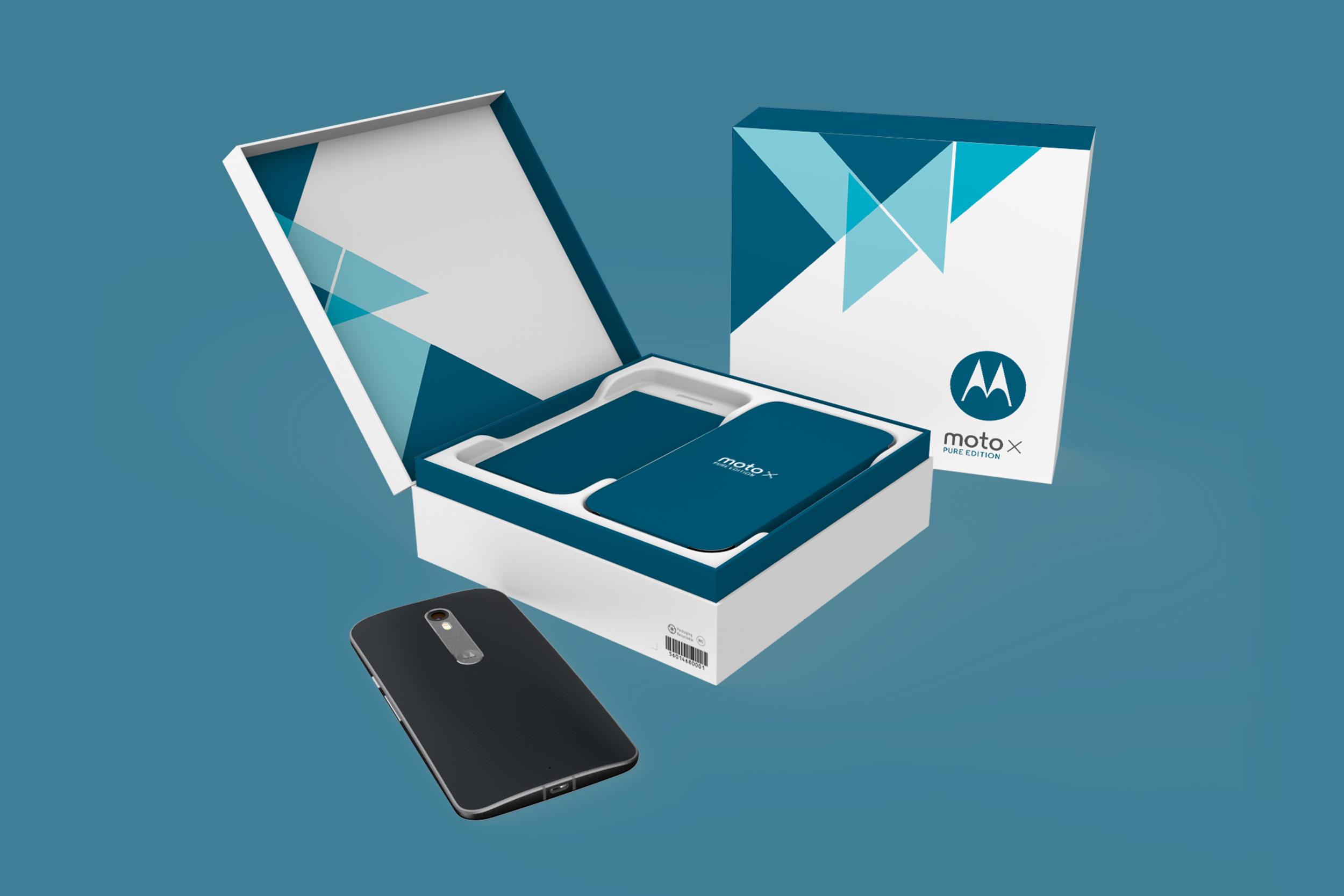 Motorola Moto X Pure  |  Packaging Structure Design