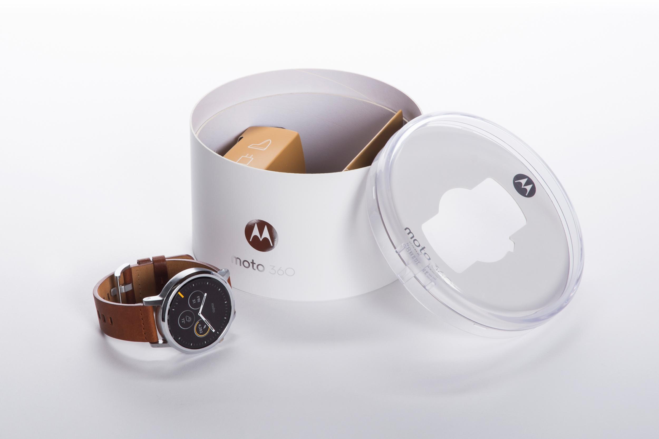 Motorola Moto 360 2nd Gen  |  Packaging Structure Design
