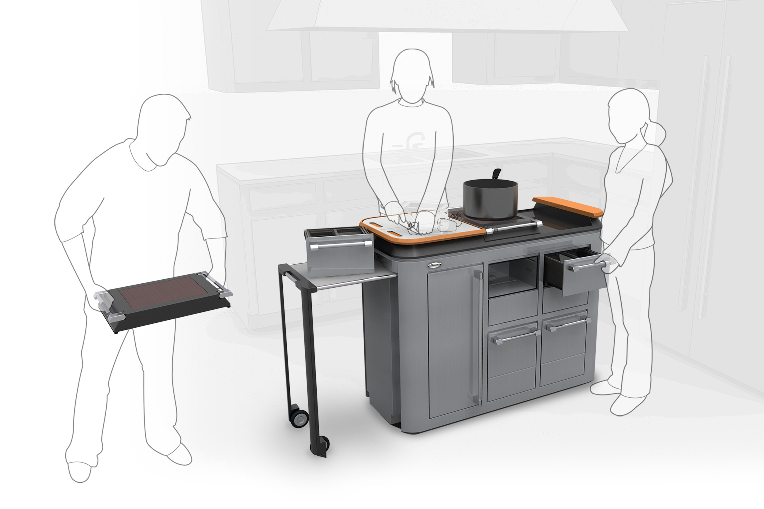 Whirlpool Cook Spot Concept  |  Product Design