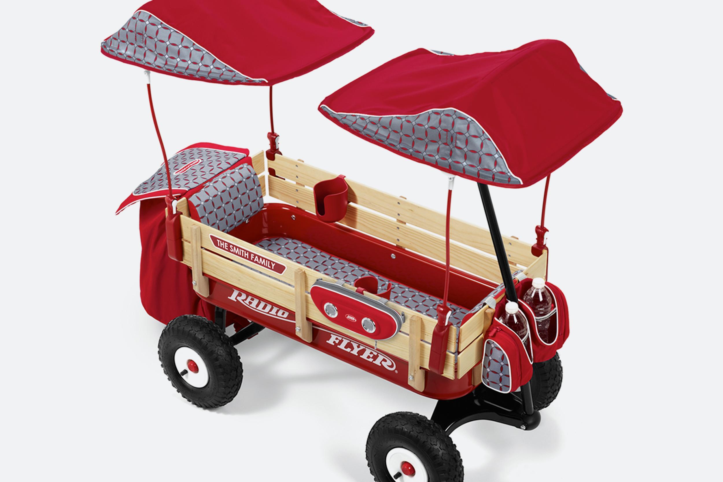 Radio Flyer Build-A-Wagon  |  Customization Program Design