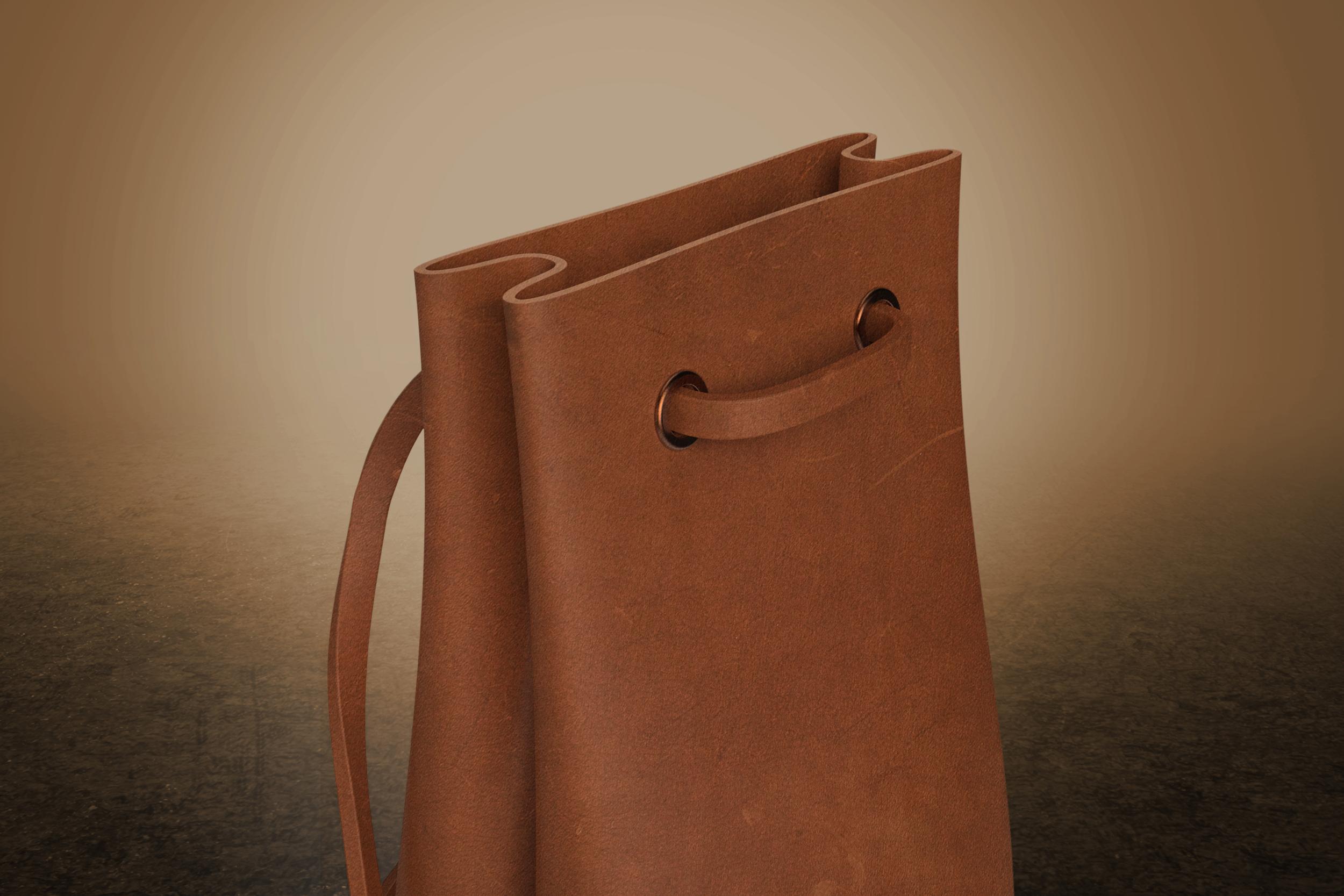 Leather Carry Bag  |  Soft Goods Design