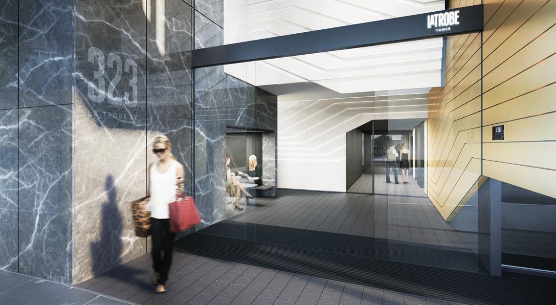 La Trobe Tower - La Trobe Street, Melbourne