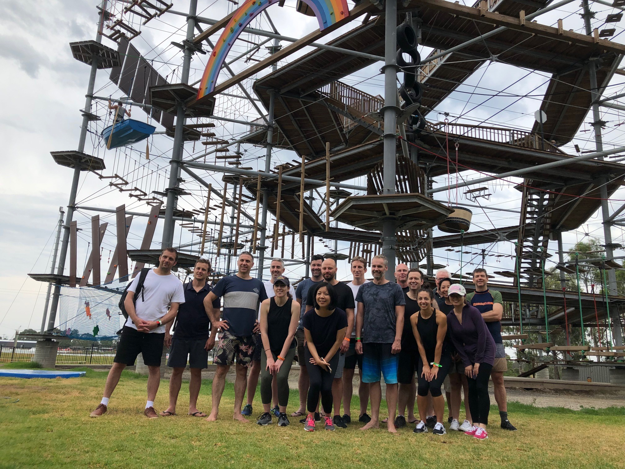 The SB team at Melbourne Cable Park
