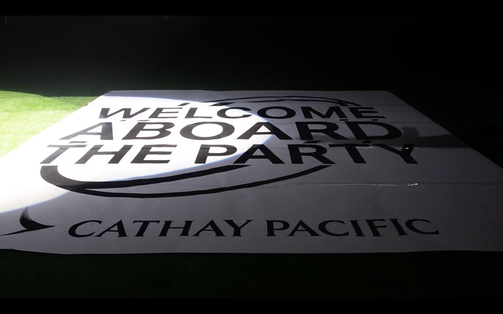 Cathay Pacific Hong Kong Rugby Sevens lockup