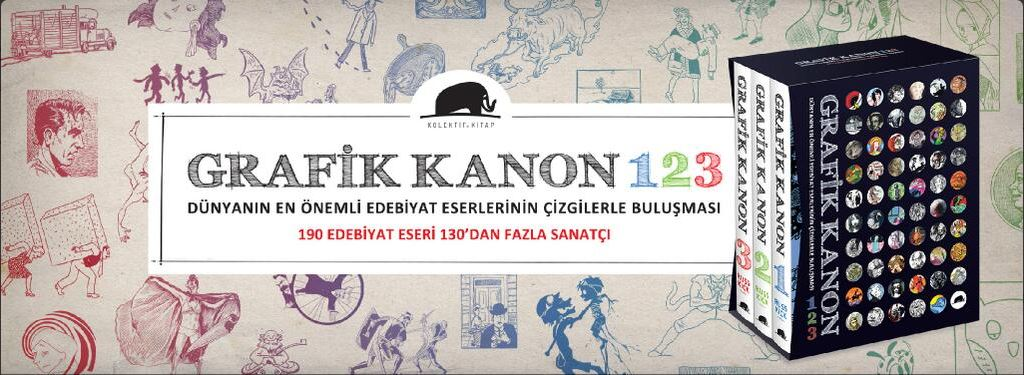 Ad for the three-volume set in Turkey