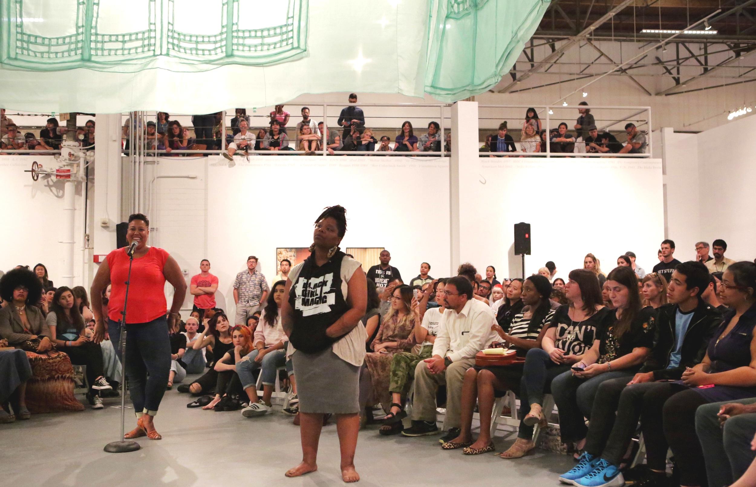 Black Lives Matter: Patrisse Cullors and Tanya Lucia Bernard
