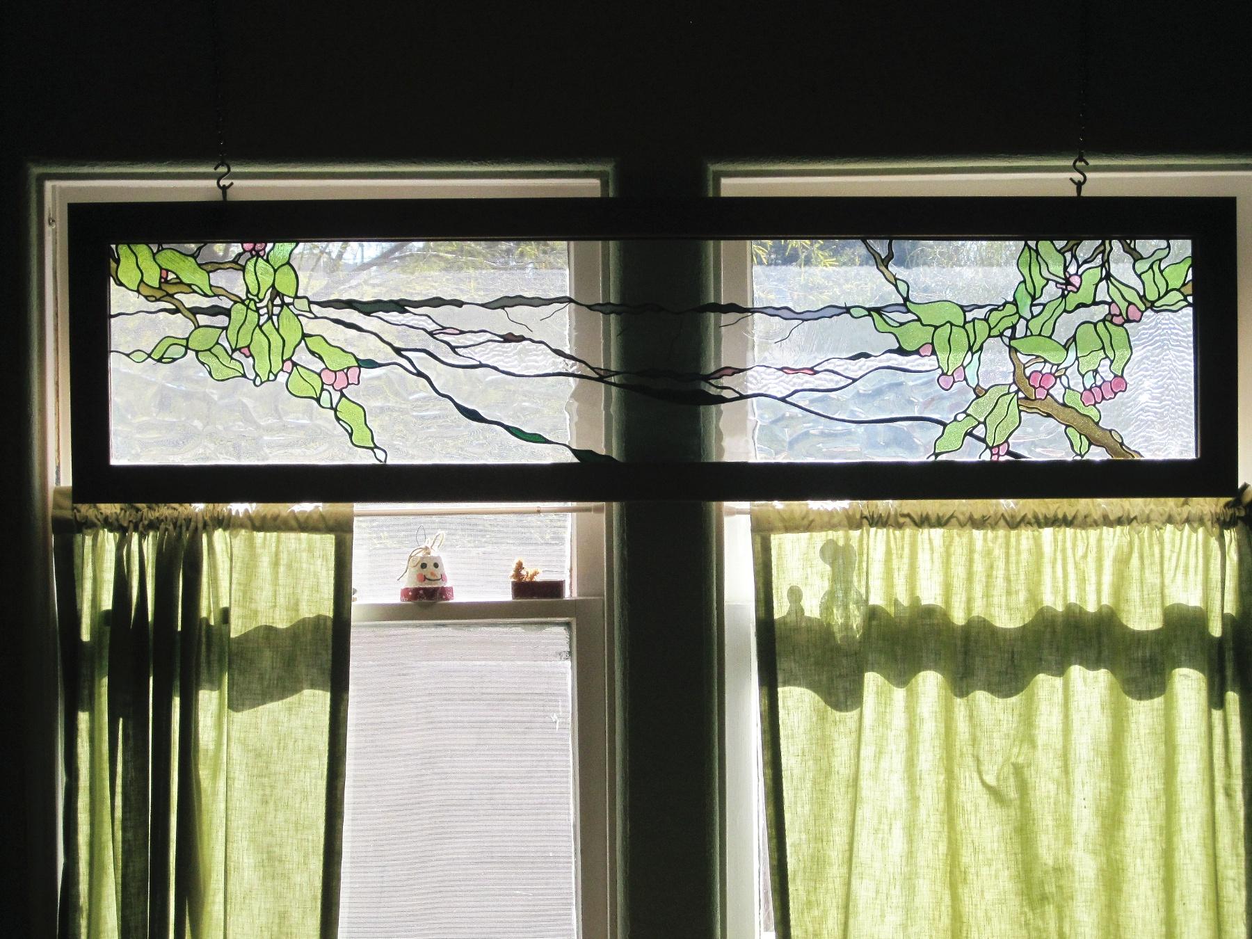 South Mountain Art Glass Panel