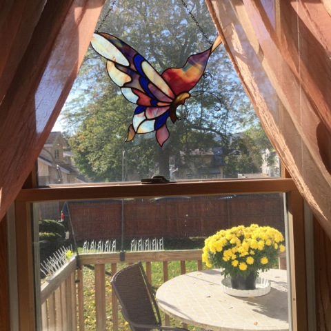 2nd Generation Butterfly Autonomous panel  Private residence,  Binghamton,  NY