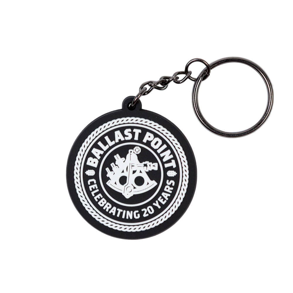 pvc custom keychain ballast point