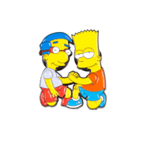 Metal Pin Simpsons