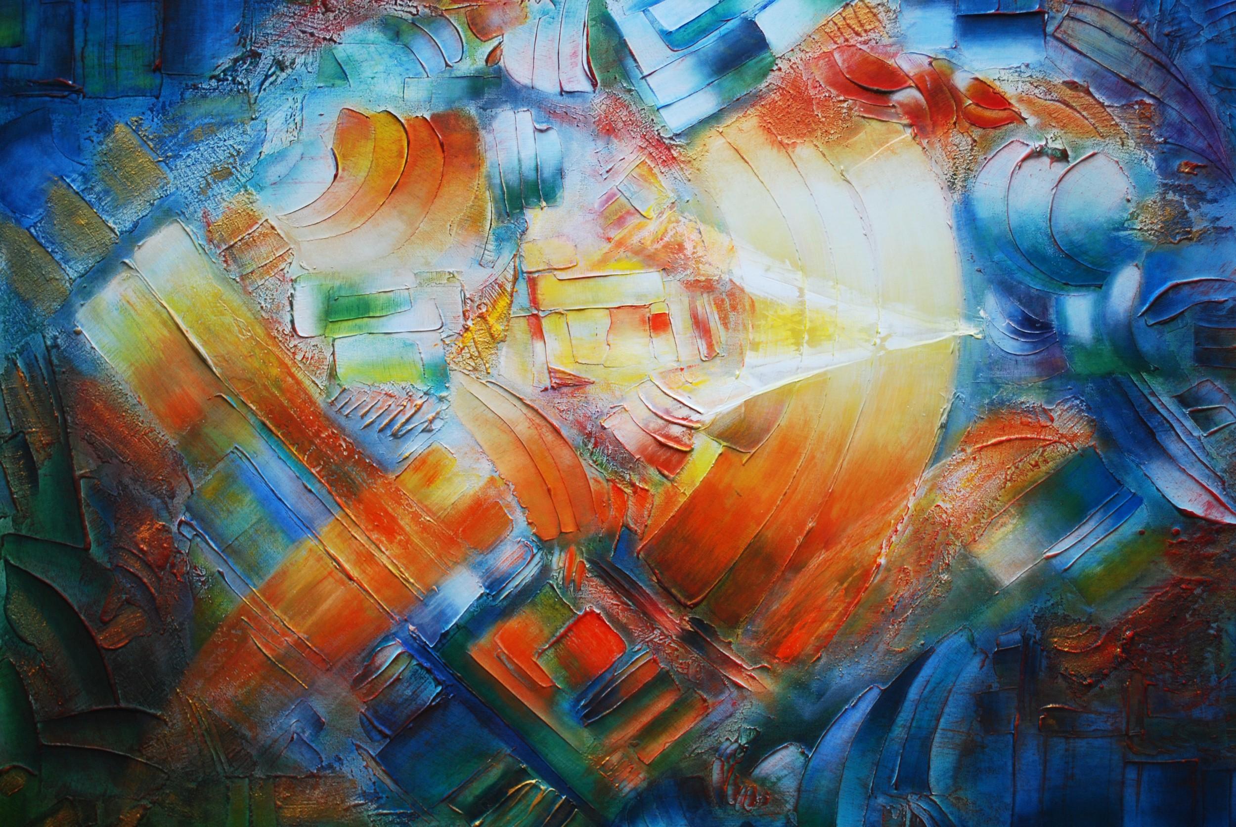 Inquietud y Movimiento 100 x 76 cm. Sold / Vendido