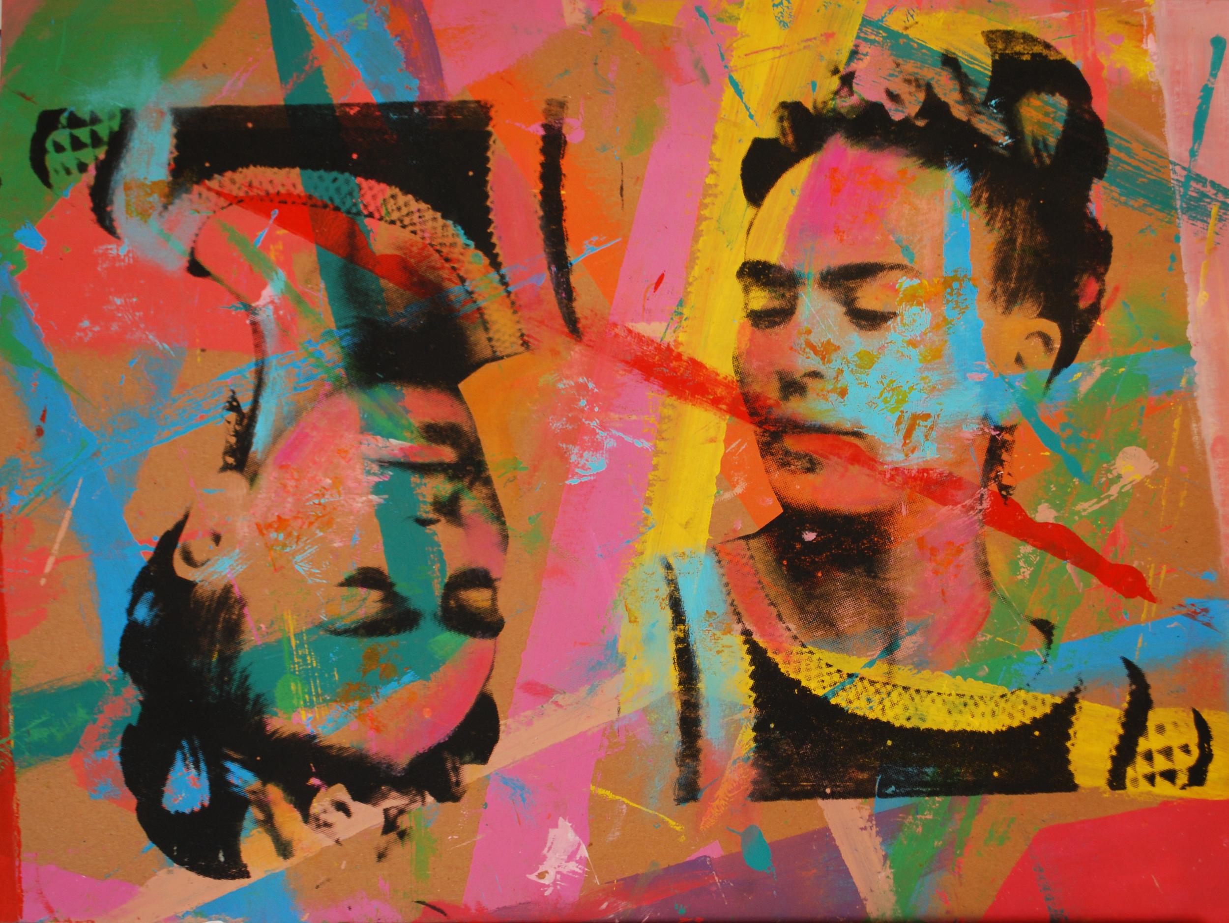 Frida 1. Over Carton 18 x 24 in