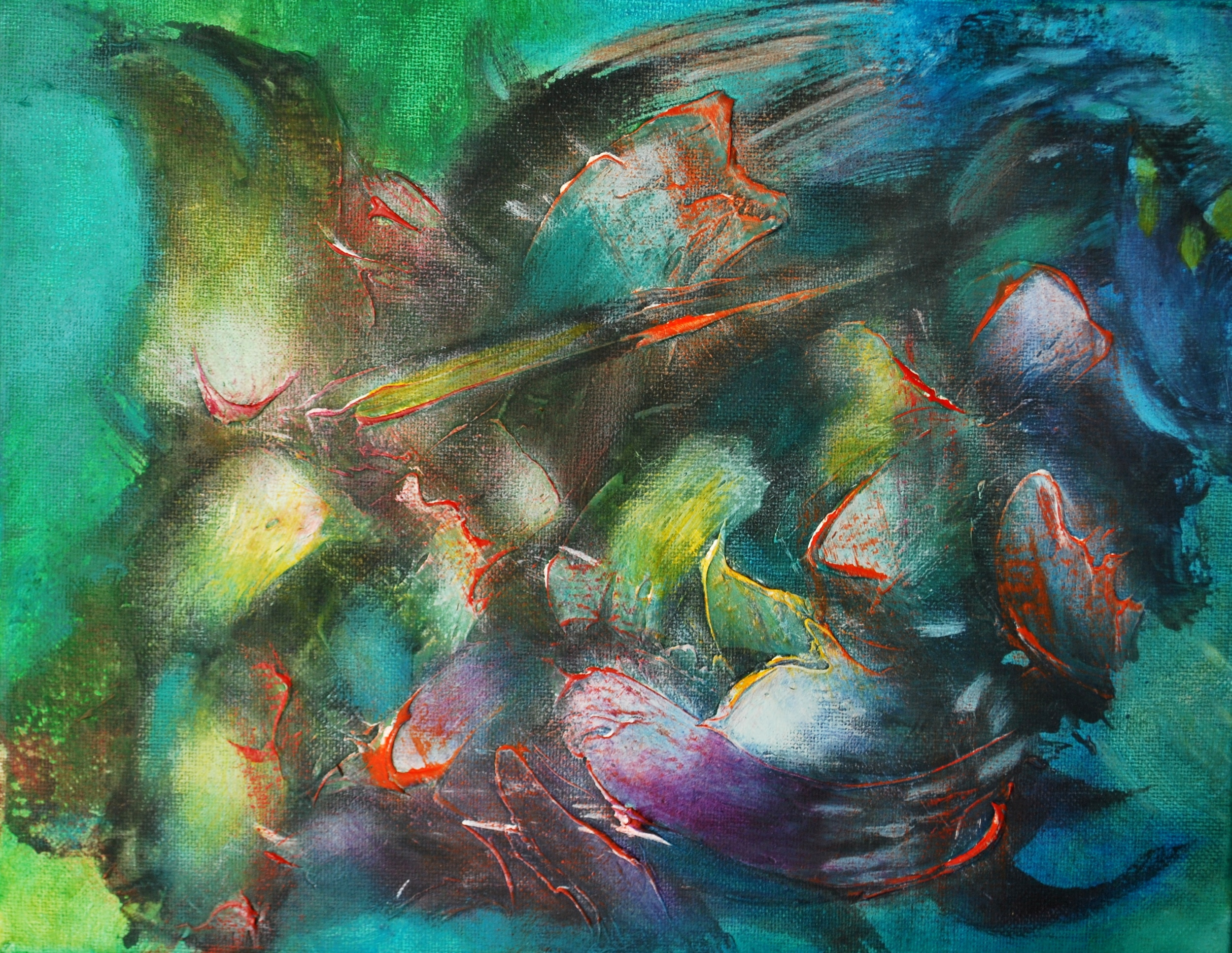 Ilusión efímera I.30 x 30 cm 12 x 12 in  Sold / Vendido