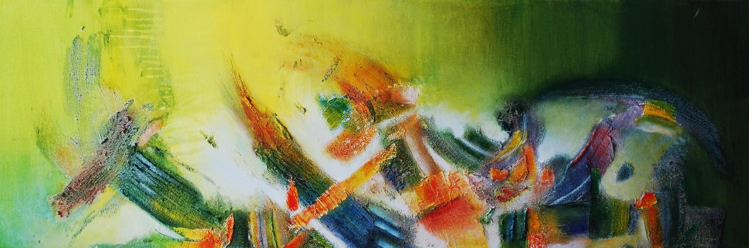 Anfitrión de Tierras I.120 x 40 cm Sold / Vendido
