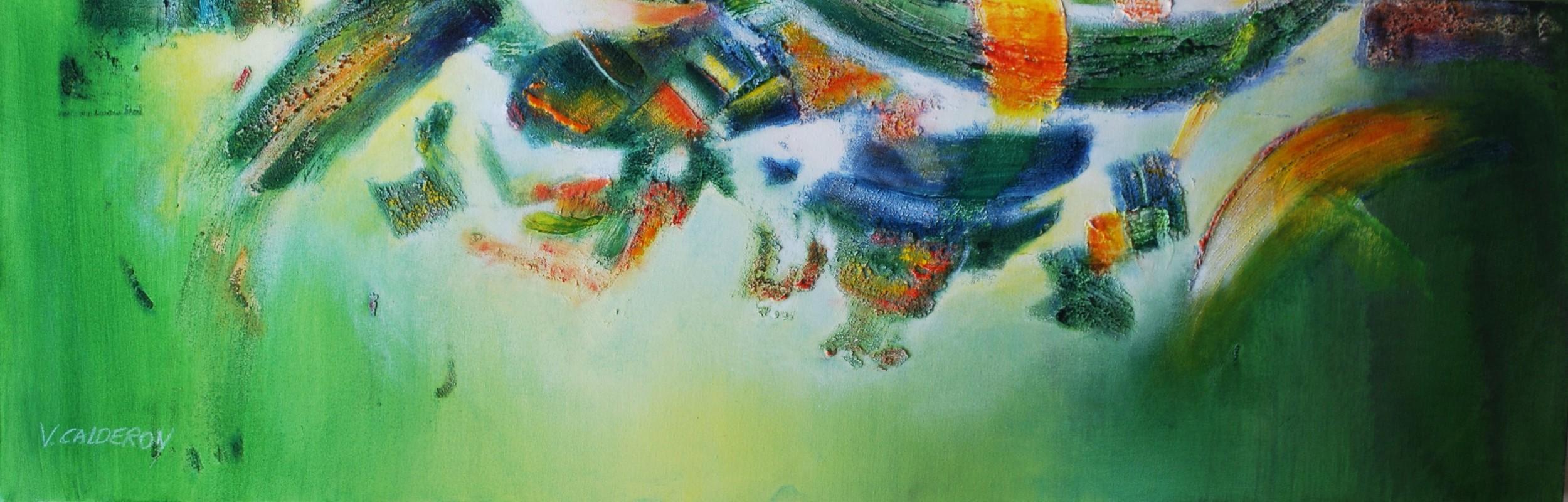 Anfitrión de Tierras II. 120 x 40 cm Sold / Vendido
