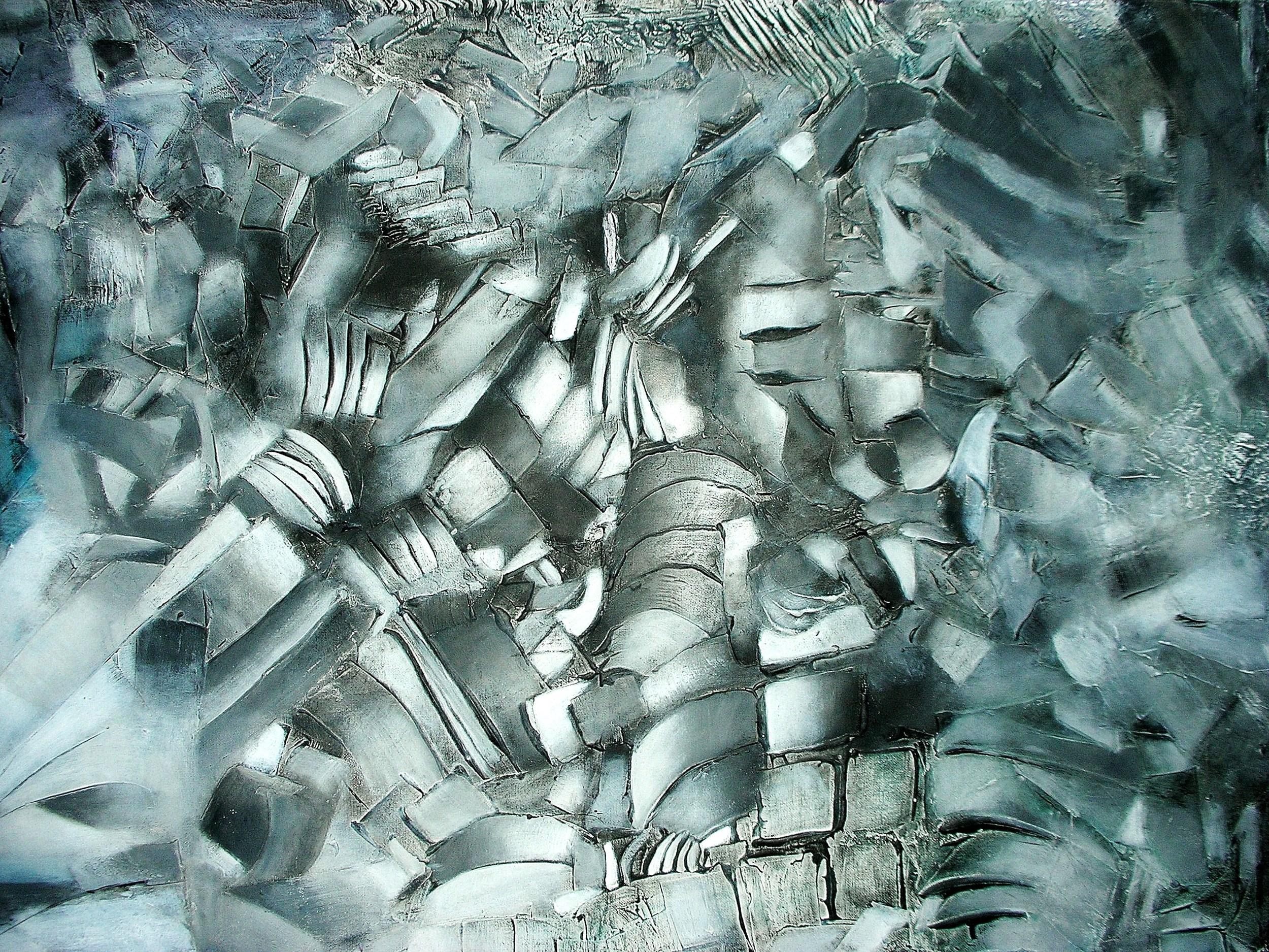 Antagonismo de una Realidad 100 x 76 cm Sold / Vendido