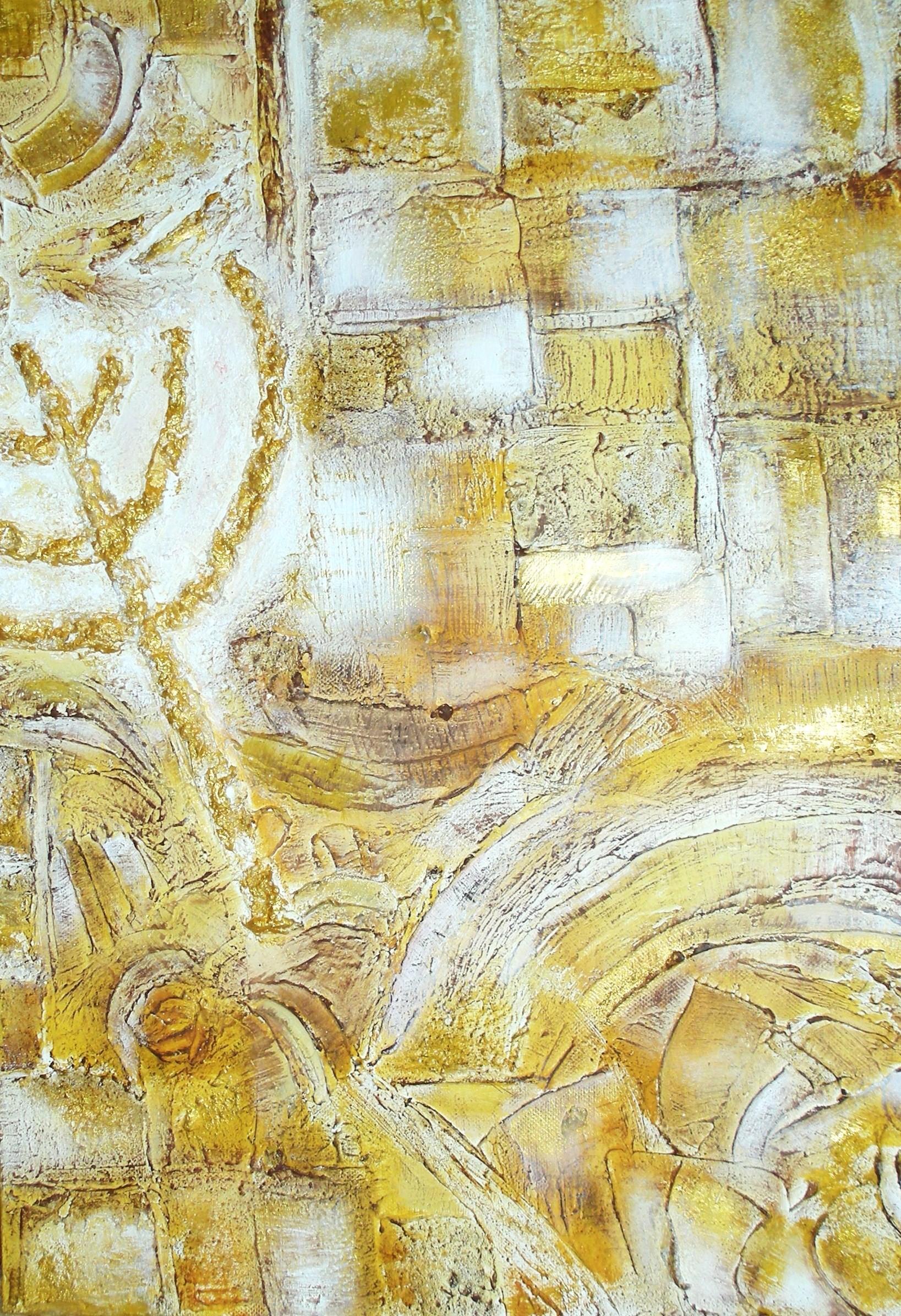 Memorias de un pueblo Sagrado 50 x 35 cm (Ganador Concurso 60 Años de Israel)