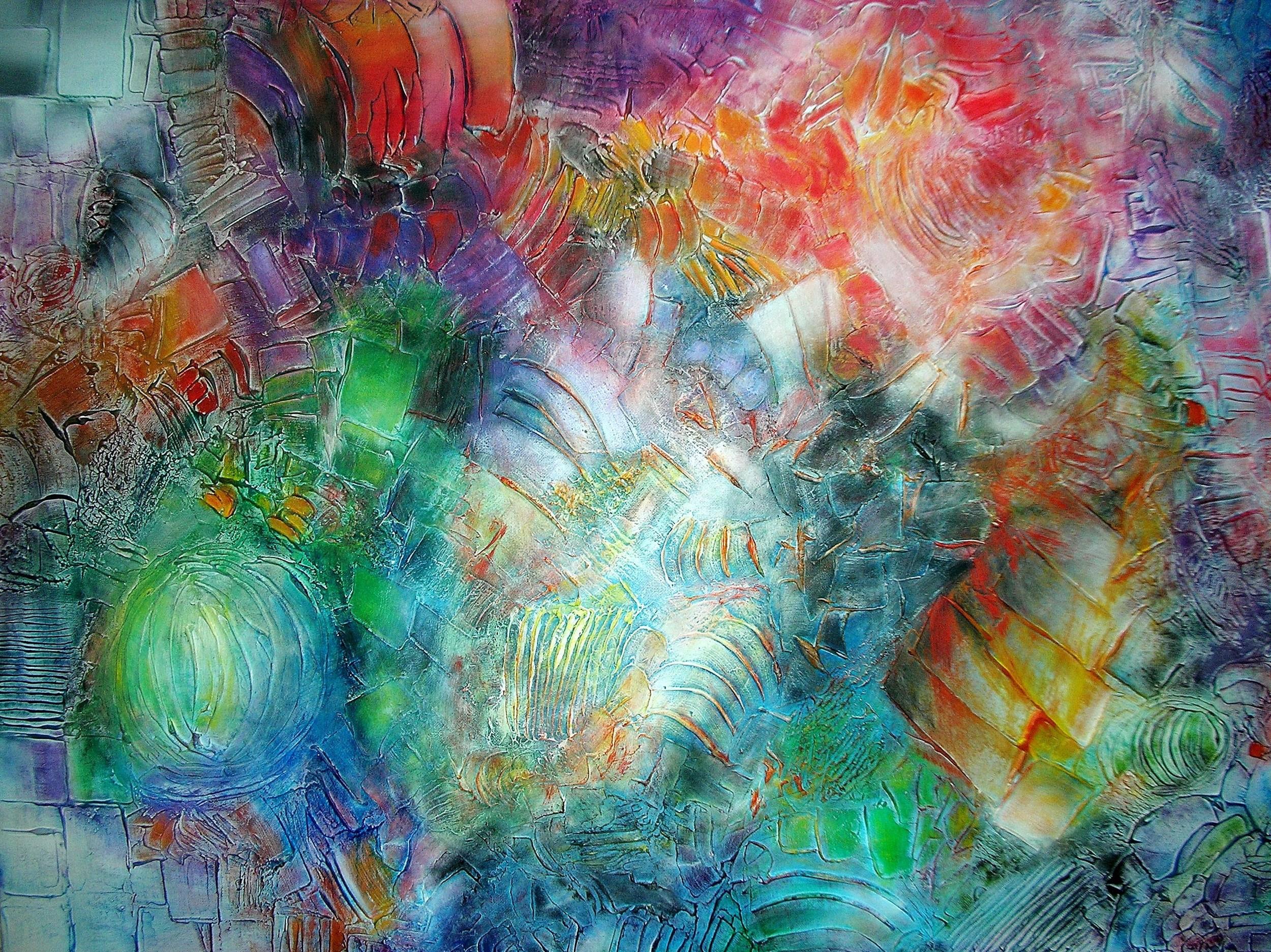 Huellas de la Tierra 100 x 76 cm Sold / Vendido