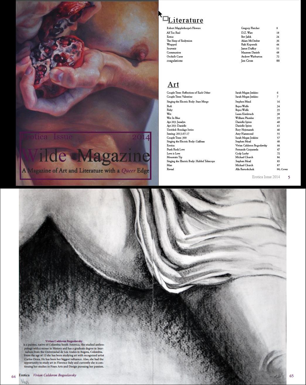 Wilde Magazine Erotica Issue 2014