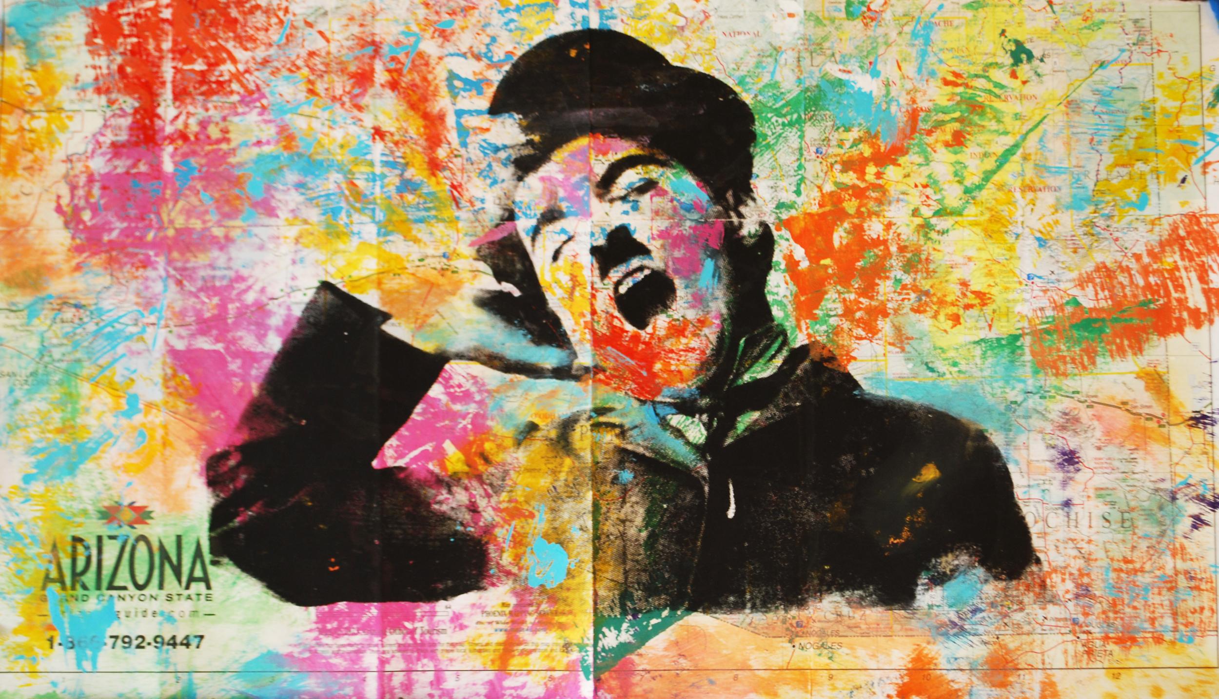 Chaplin II. 3. 22 x 12.5 in