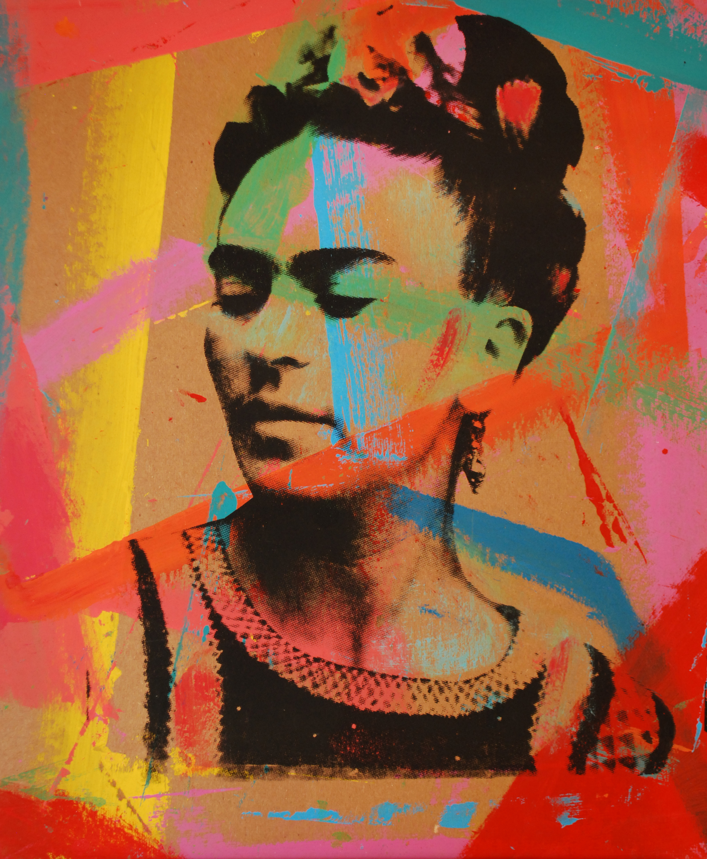 Frida 8. Over Carton 17 x 14 in