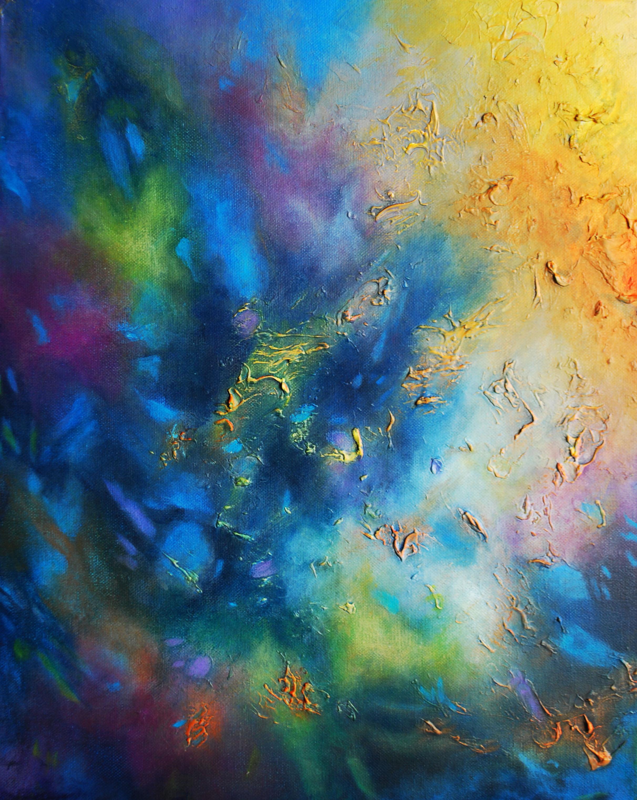 Océano de Fuego 16x20. 41 x51 cm