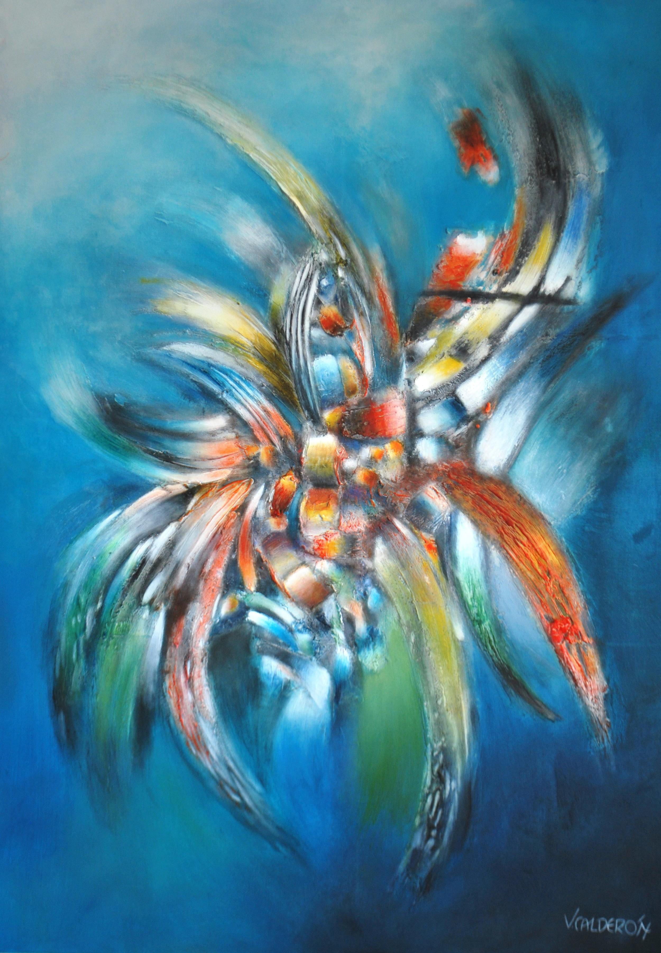 Retorno al Agua 120 x 90 cm Sold / Vendido