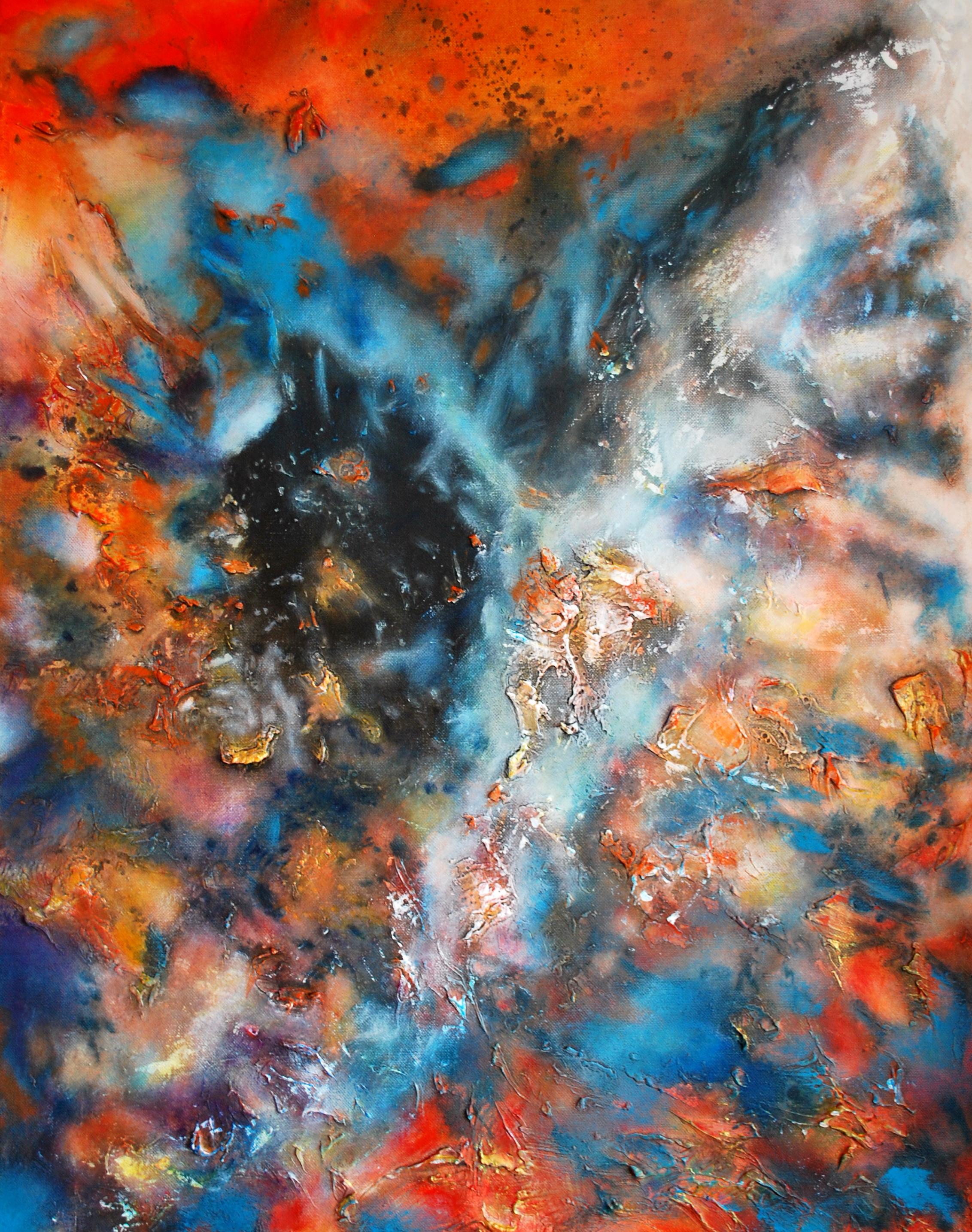 Universo oculto 56 x 71 cm