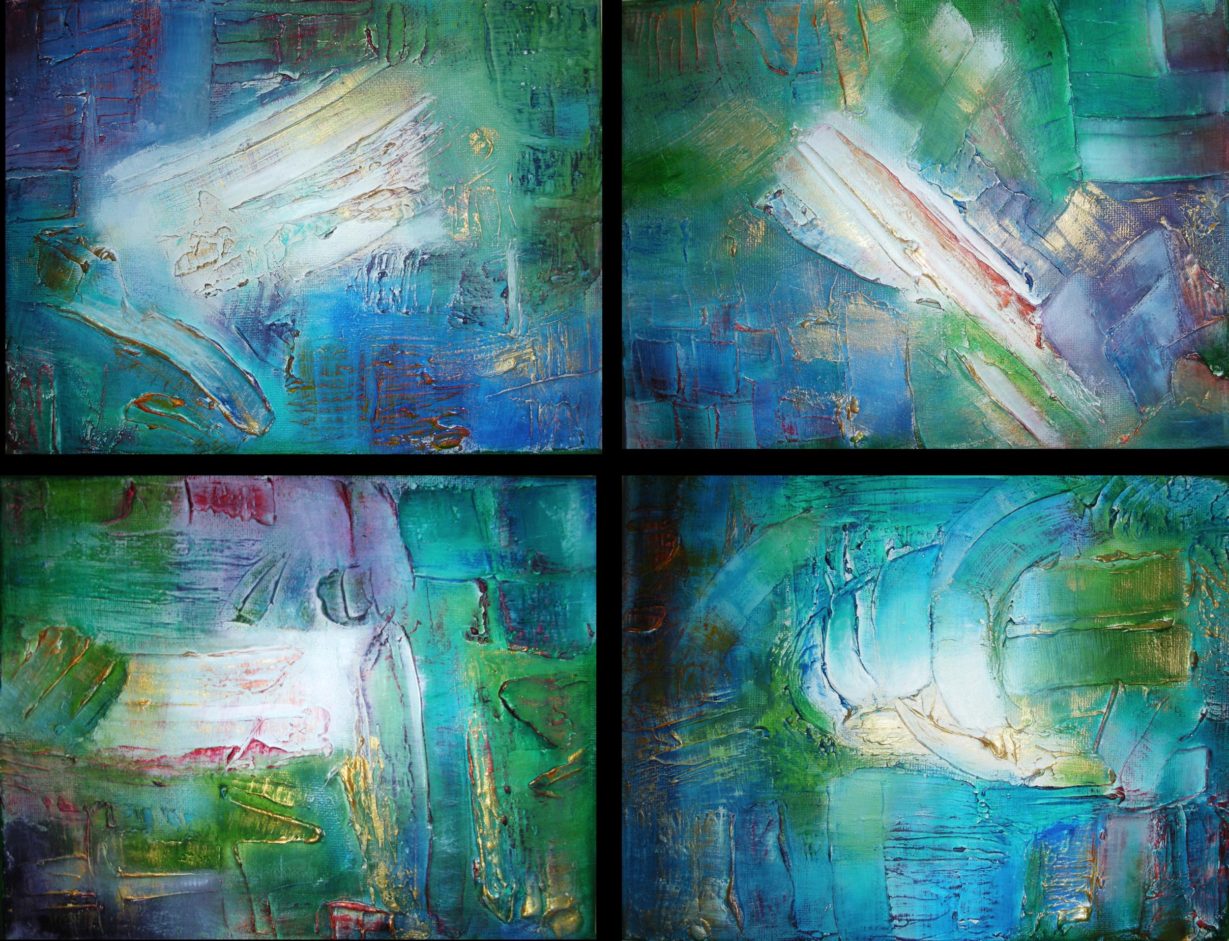 Naturaleza de Vida I, II, III , IV. 20 x 30 cm Sold / Vendido