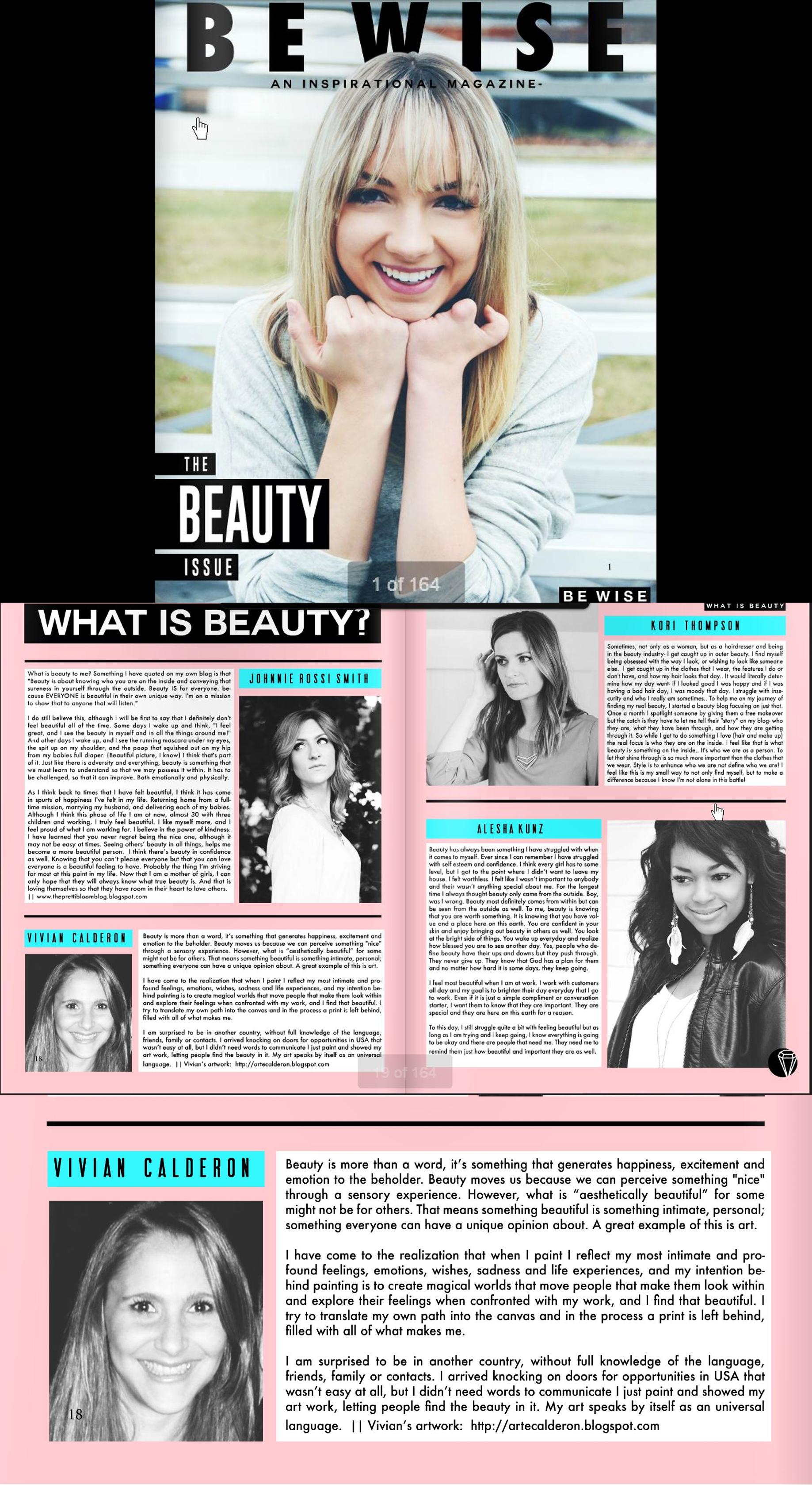 Be Wise Magazine 2015