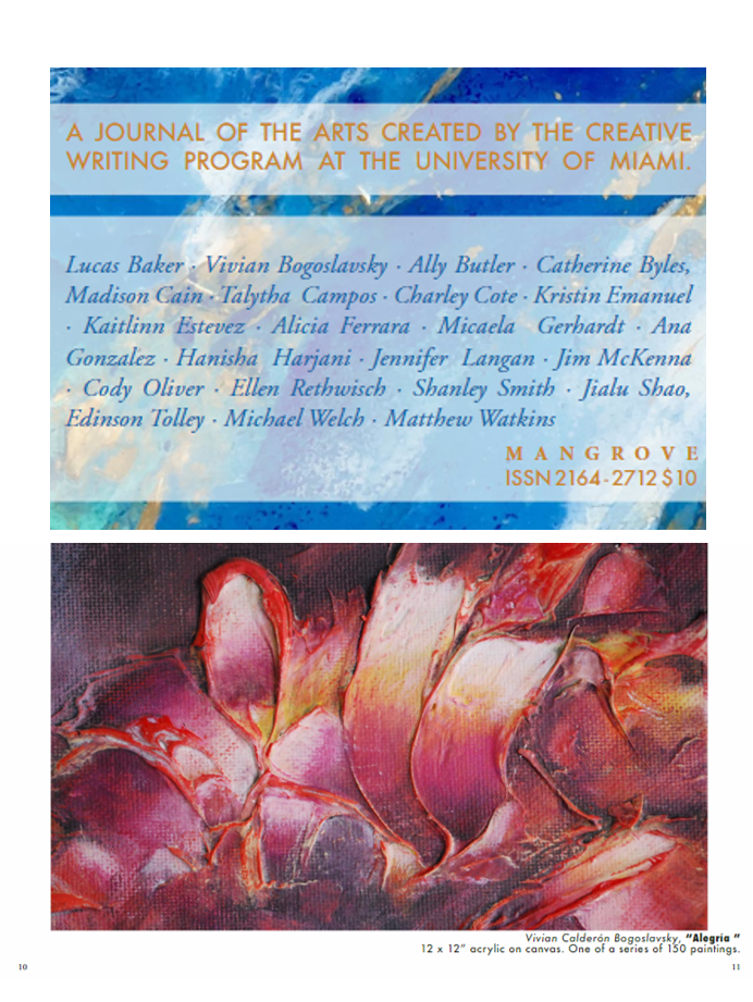 Mangrove Journal - issuu 1,  Spring 2017