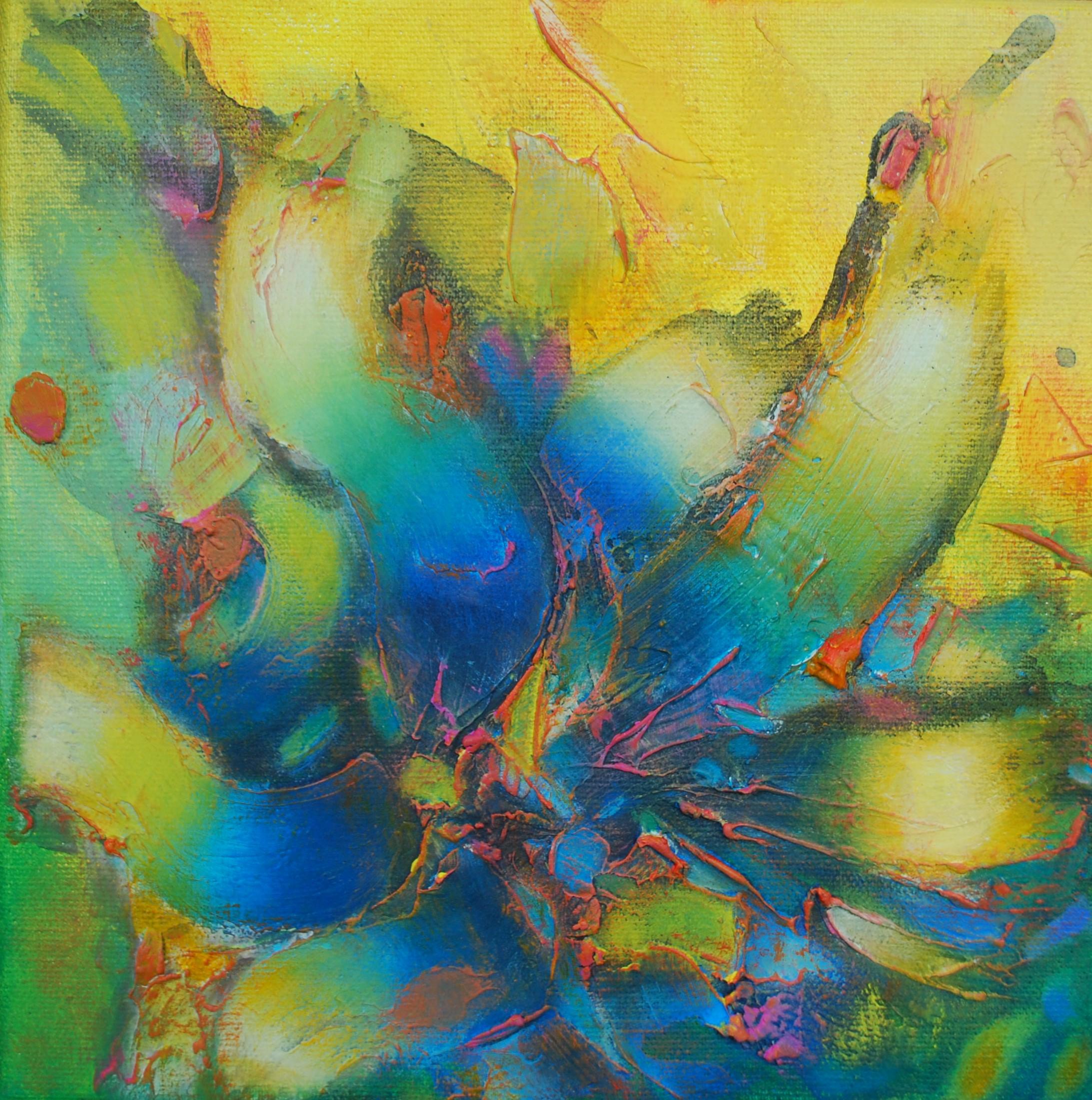 Mundos Mágicos 6. 20 x 20 cm Sold/Vendido