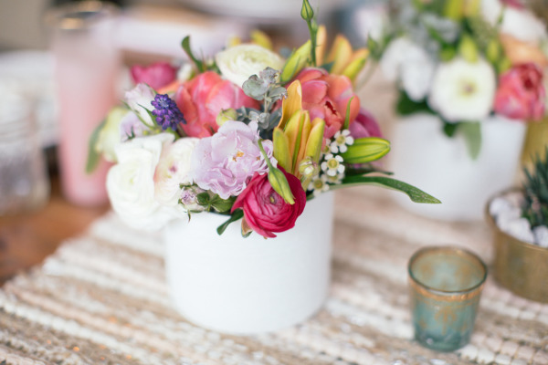 Style Me Pretty - Desert In Spring Bridal Shower Styled Shoot