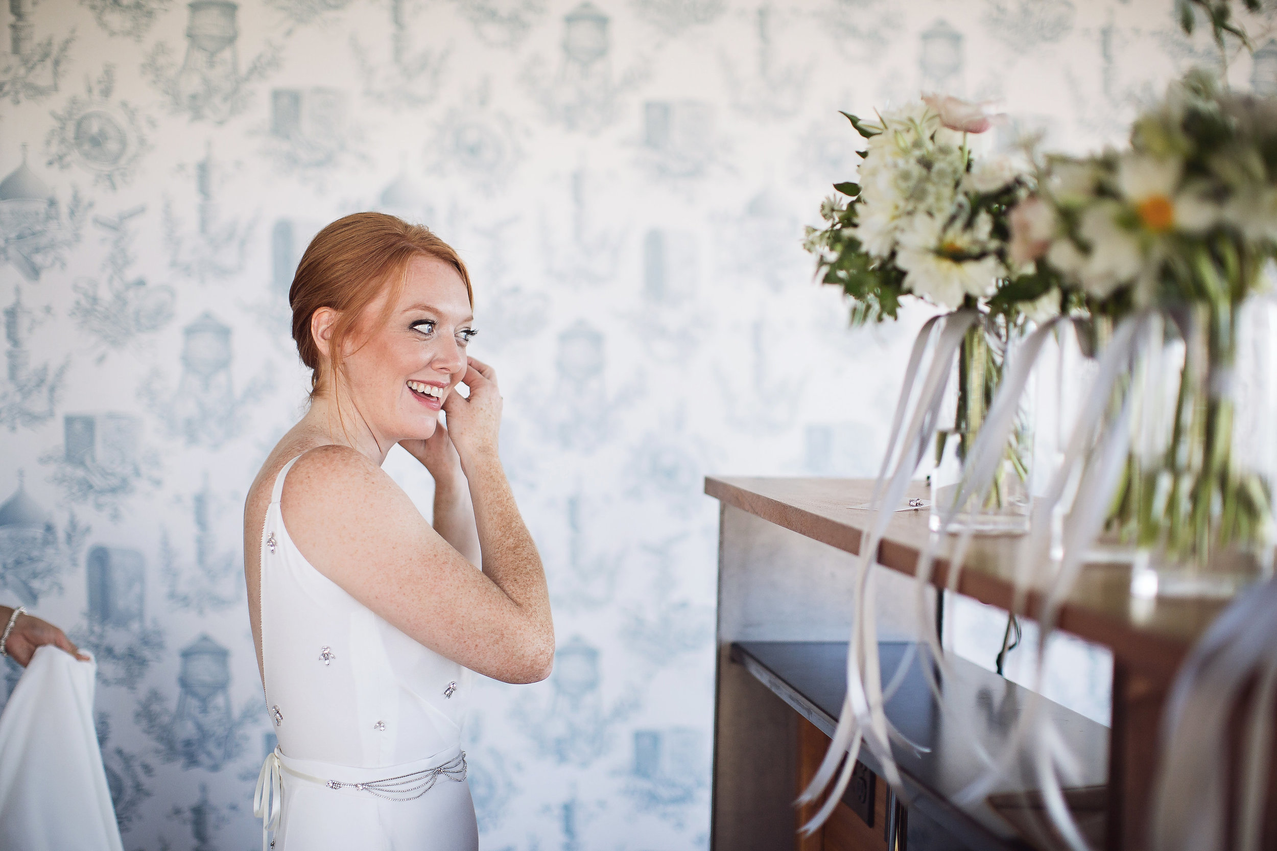 Sarah & tom's epic brooklyn dance party wedding at the wythe hotel