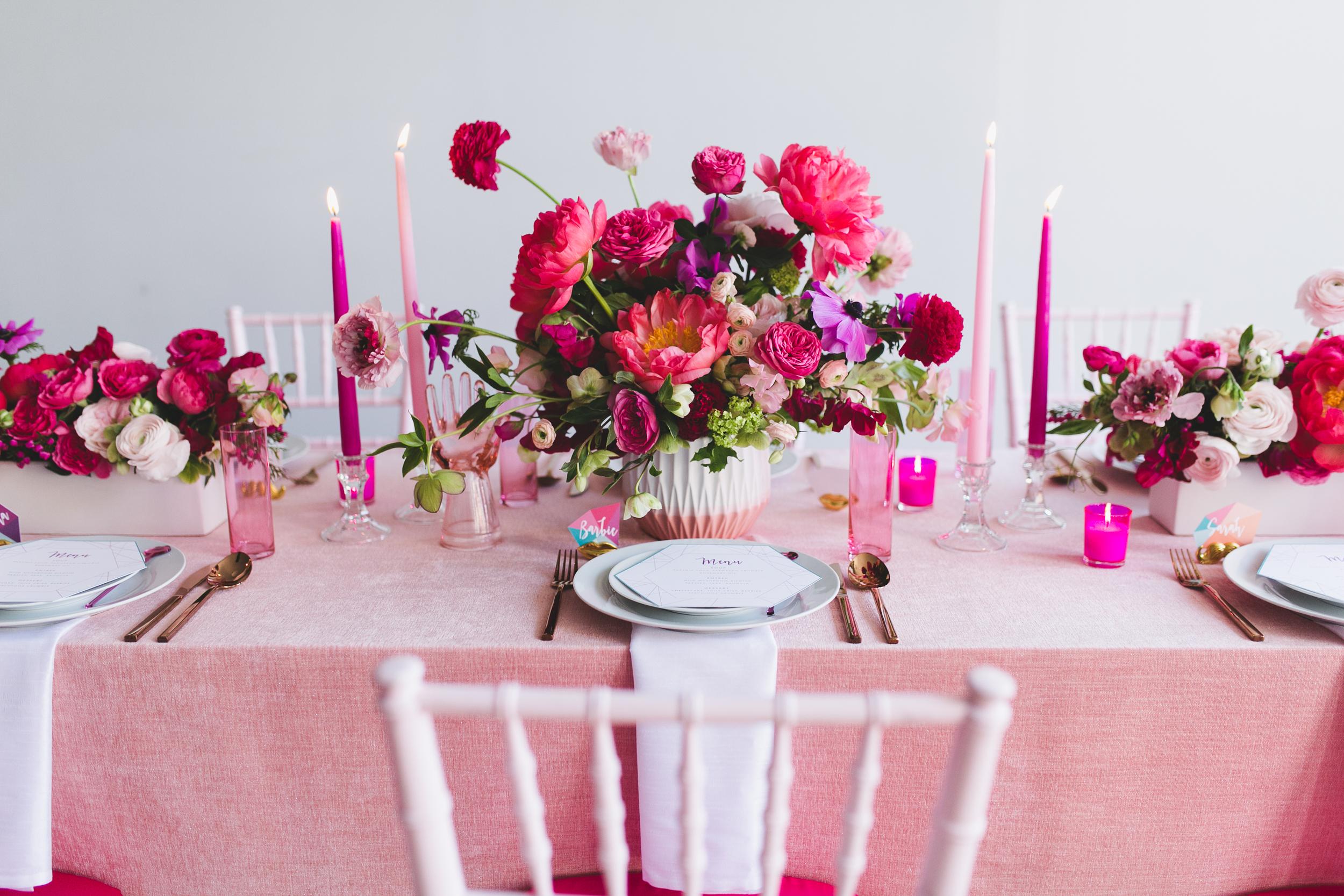 H&H Weddings - barbie & kendra styled shoot