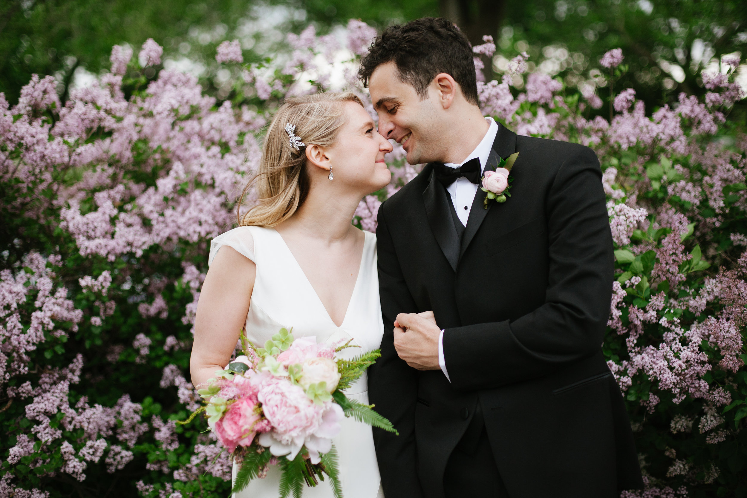 Laura and Will's super sweet manhattan wedding at new leaf restaurant