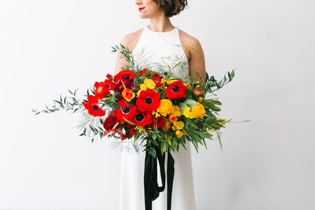 inspired by this - 23 SUMMER WEDDING BOUQUETS WORTH A DOUBLE TAKE
