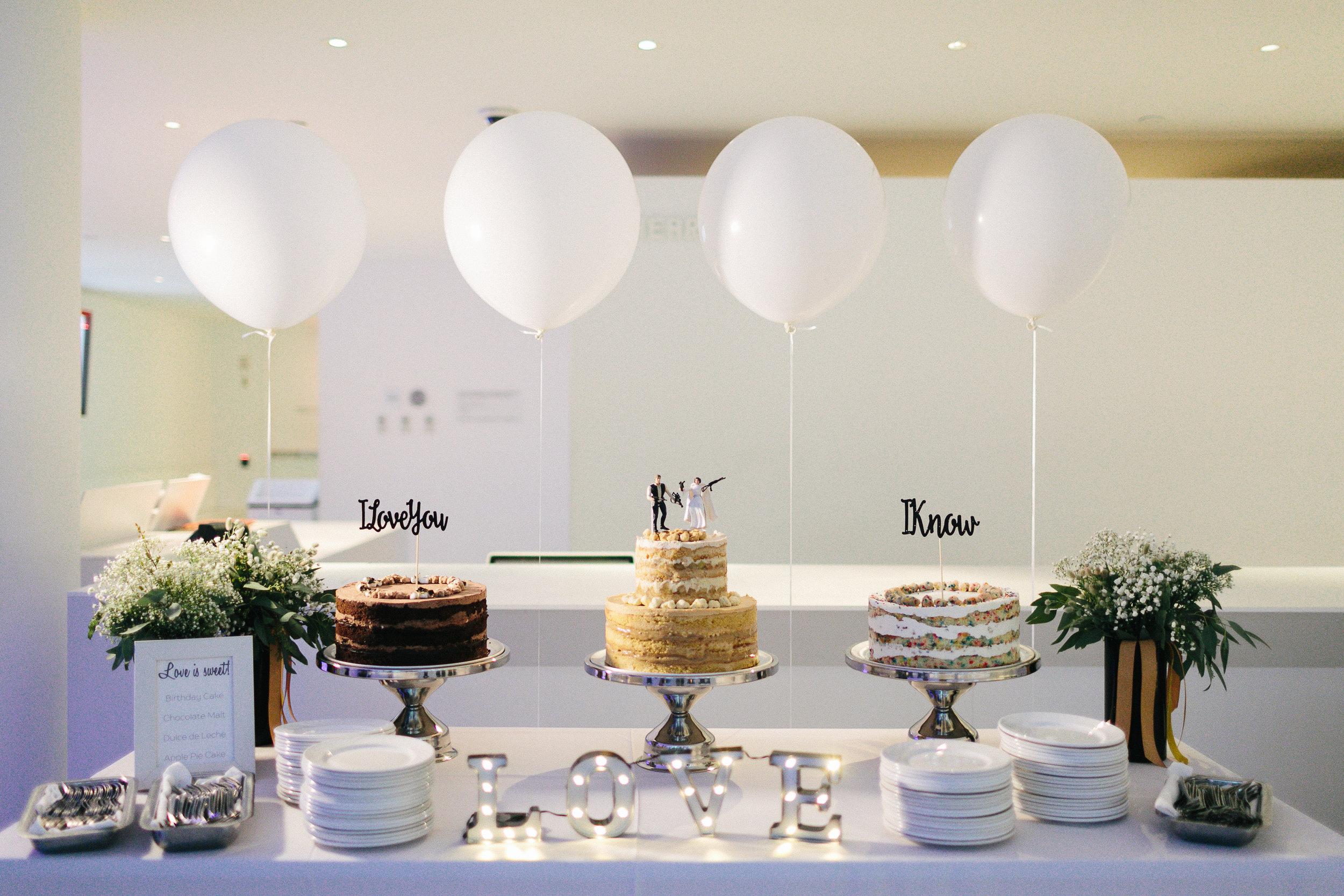 the knot - a movie-themed wedding in long island city, ny