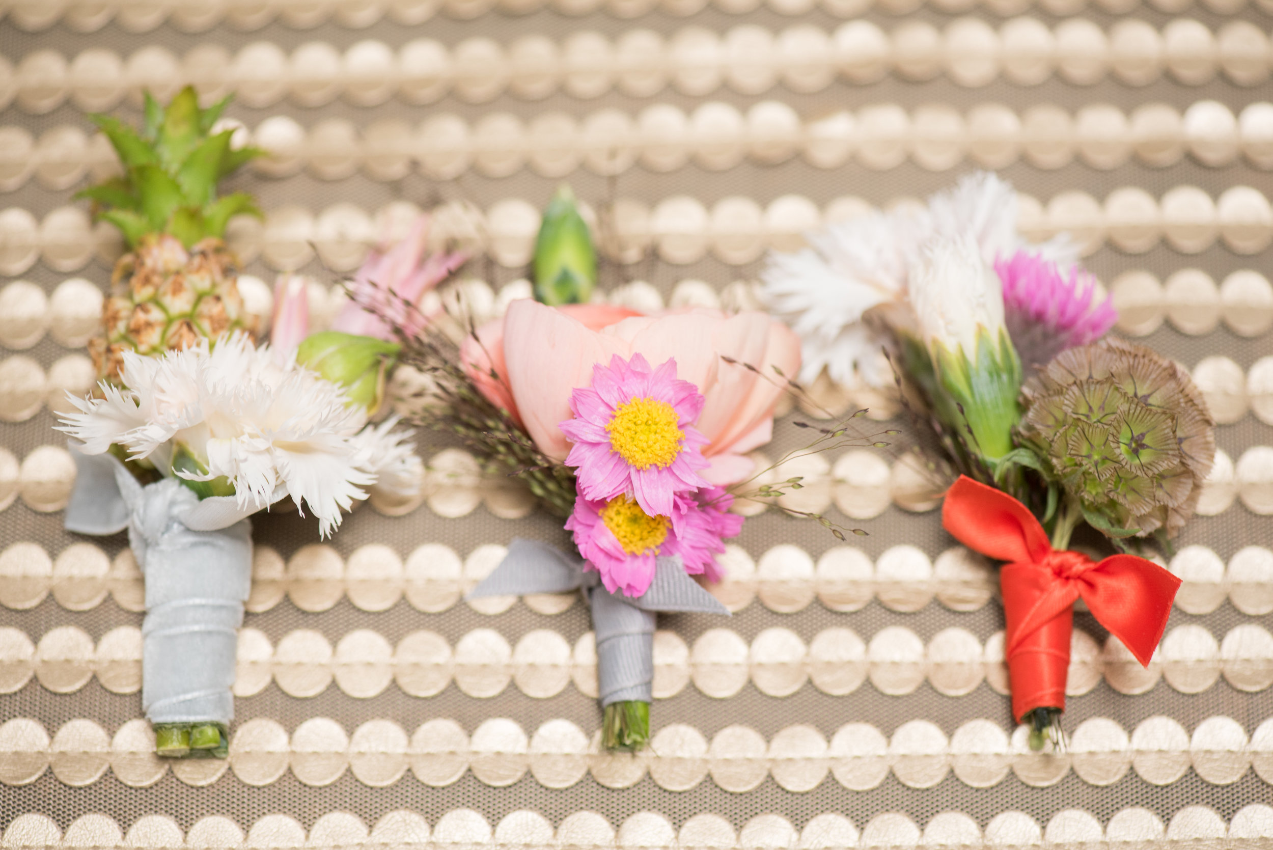 woman getting married - BOUTONNIERES YOUR GROOM WILL TOTALLY LOVE