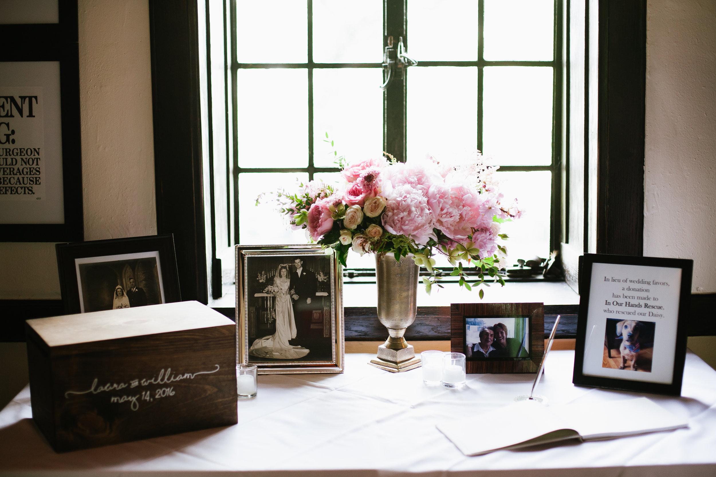 martha stewart weddings - Making a Donation in Lieu of wedding Favors
