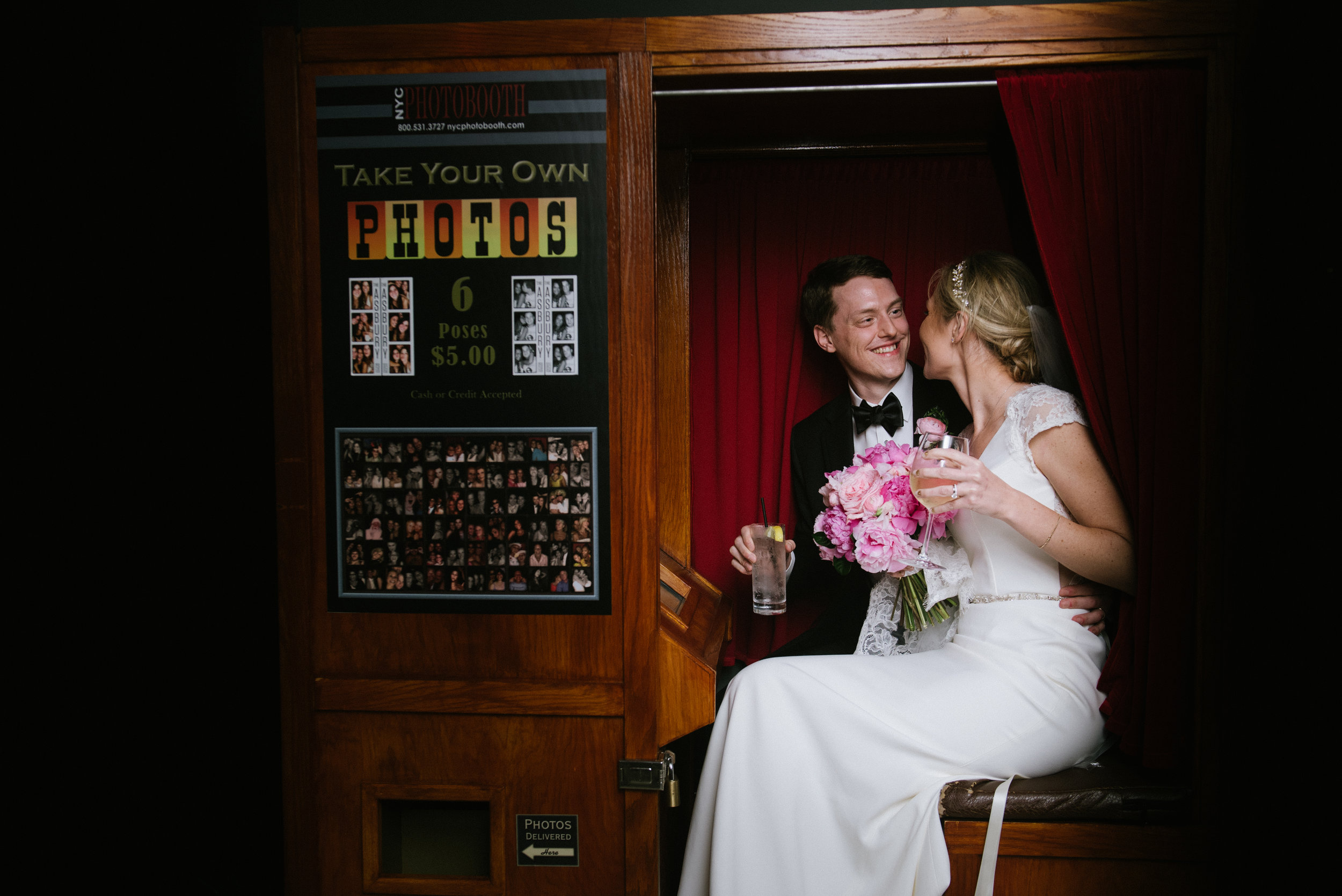 Danielle and Mike's sweet hometown wedding at the asbury hotel