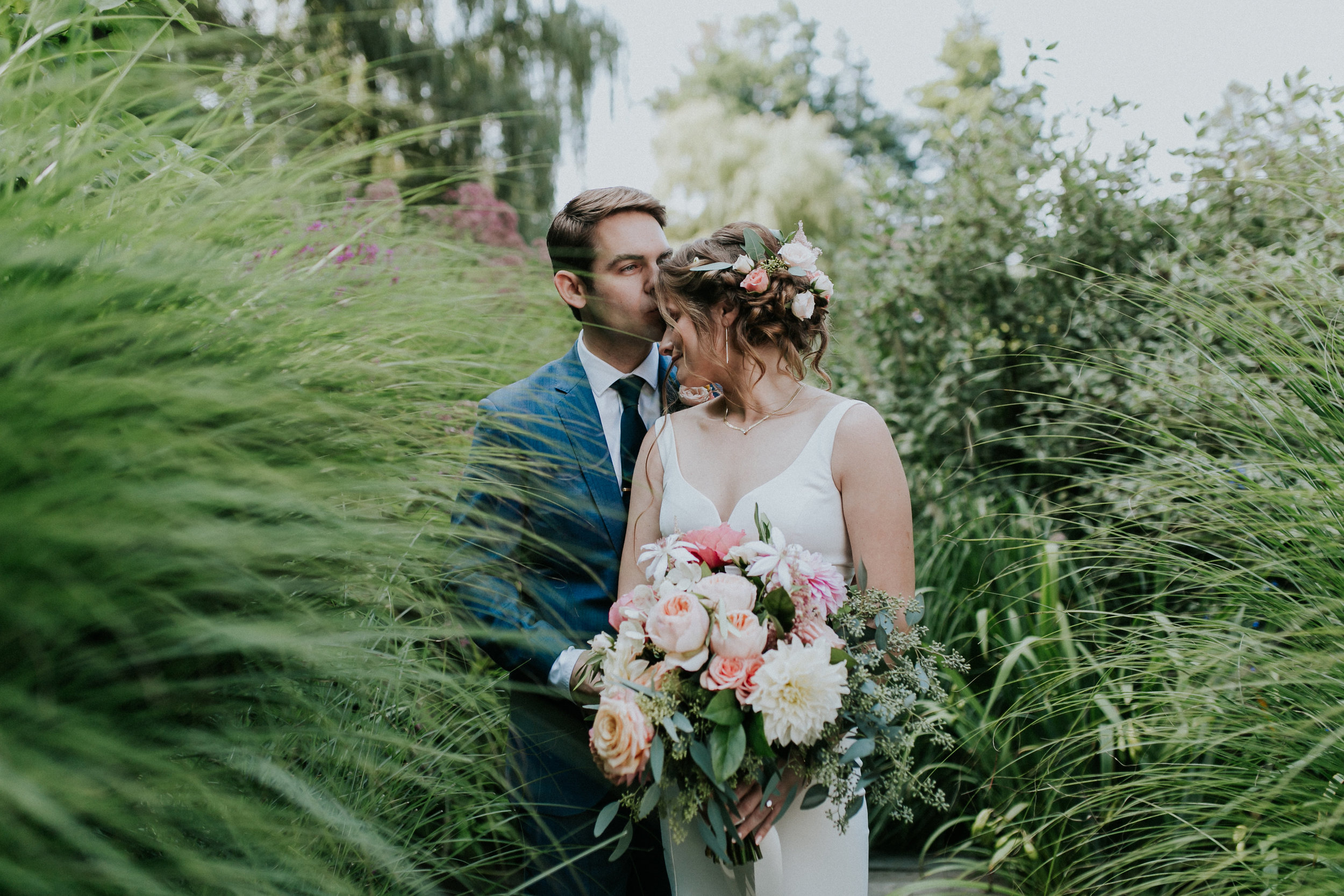 Lauren and brian's dreamy hudson valley Wedding at buttermilk falls