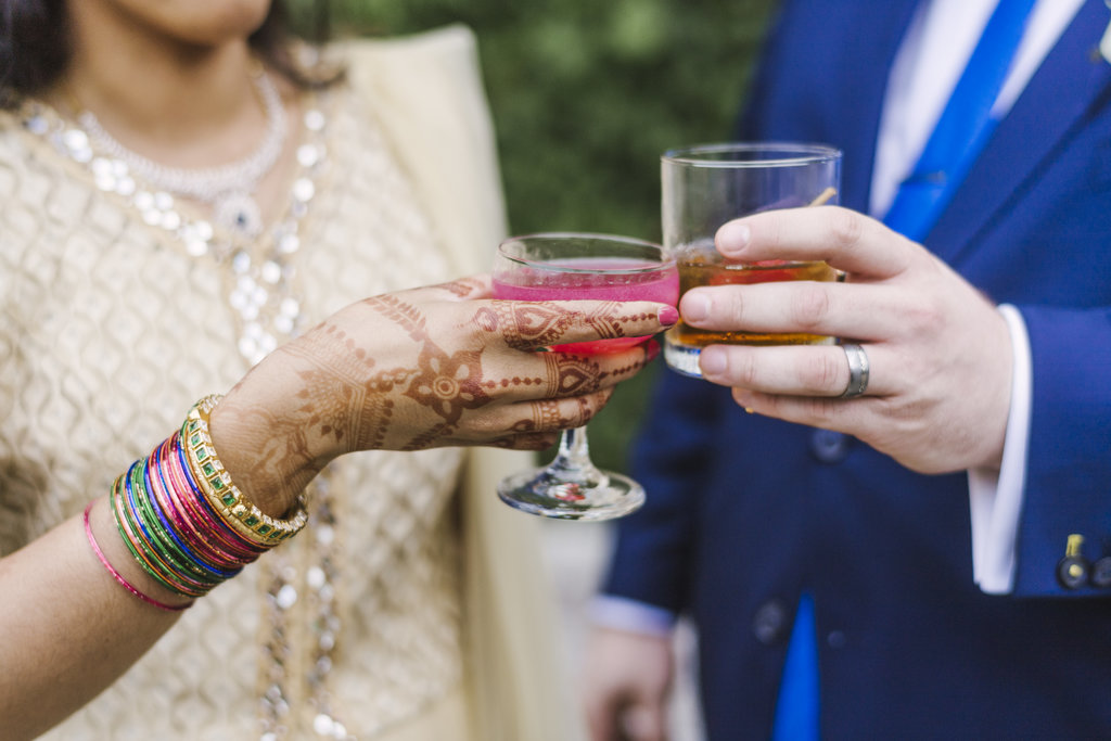 Radhika and tom's spirited wedding at the foundry in long island city