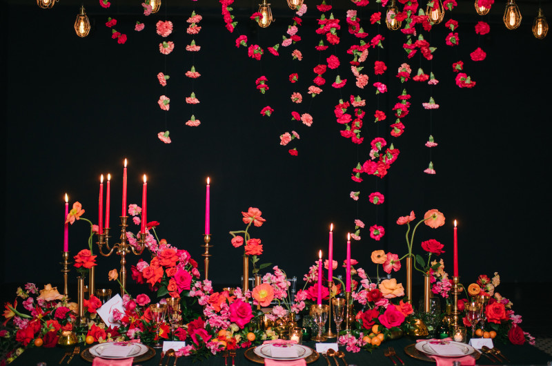 love inc. magazine - Vibrant Wedding Inspiration That POPS Off the Page