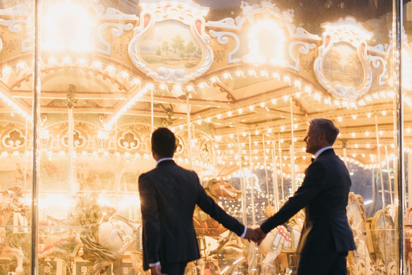 H & H Weddings - DAN & ATINÇ: A Jane's Carousel Wedding