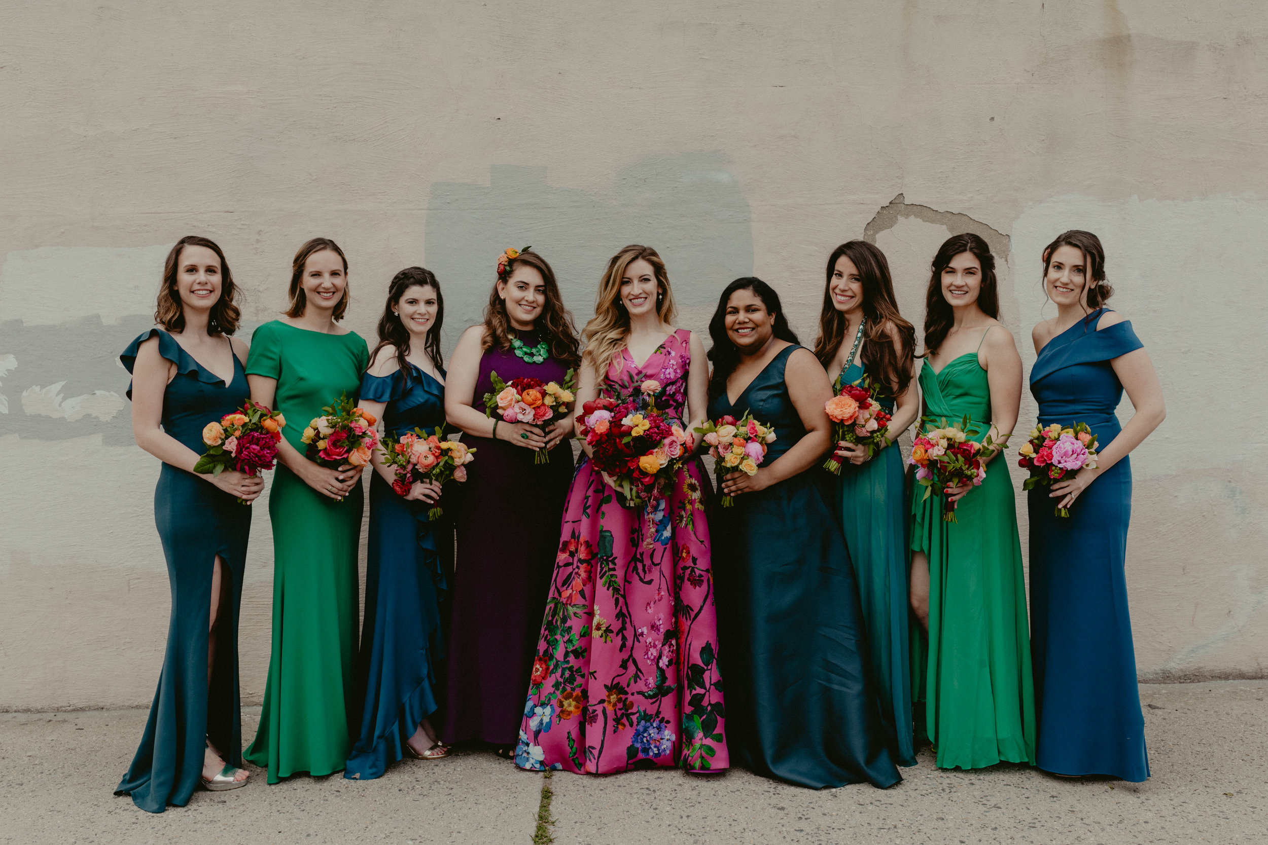 martha stewart weddings - a wardrobe Change for bridesmaids?
