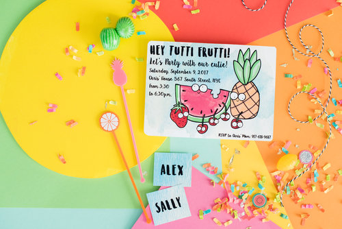 MARTHA STEWART - TUTTI FRUTTI: IT'S THE SWEETEST BIRTHDAY PARTY EVER