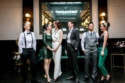 BUZZFEED - ART DECO DAPPER HOUR STYLED SHOOT