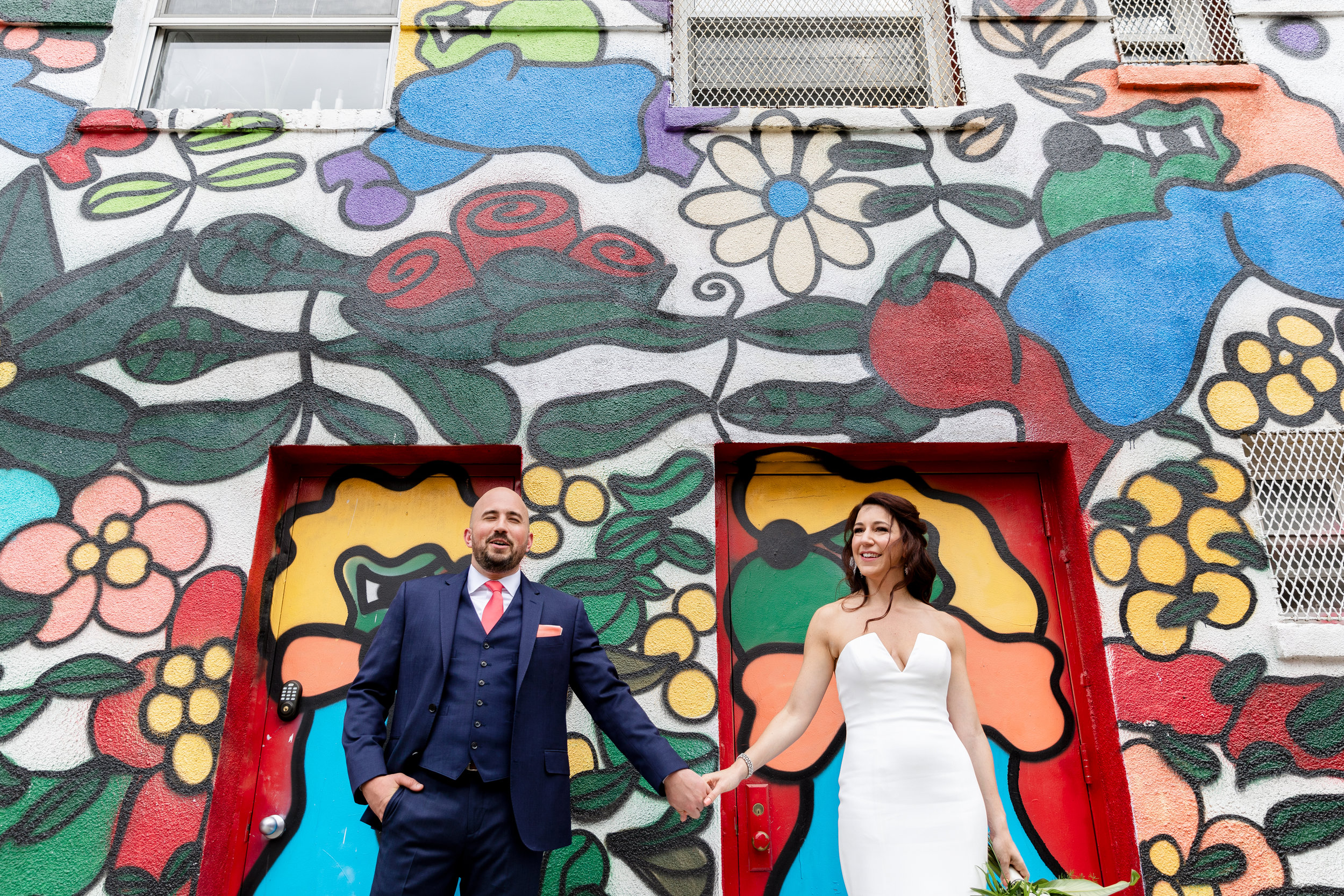 Rebecca and brandon's rocking brooklyn wedding at 501 union